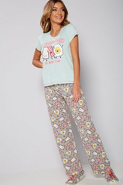 d802c557c9 Breakfast Club Pyjamas and Slipper Set