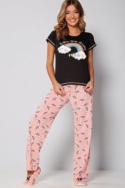 d3f61d3376 Follow Your Dreams Pyjamas and Slipper Set