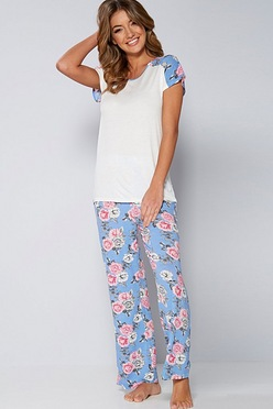 64f2126c00 Viscose T-Shirt Pyjama Set