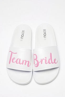 eb29c1cec985 Team Bride White Sliders