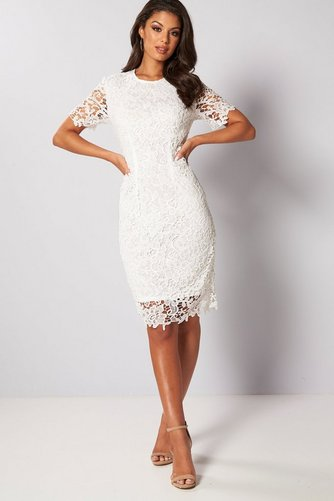 690f86a6dcd8 Image for Lace Shift Dress from studio