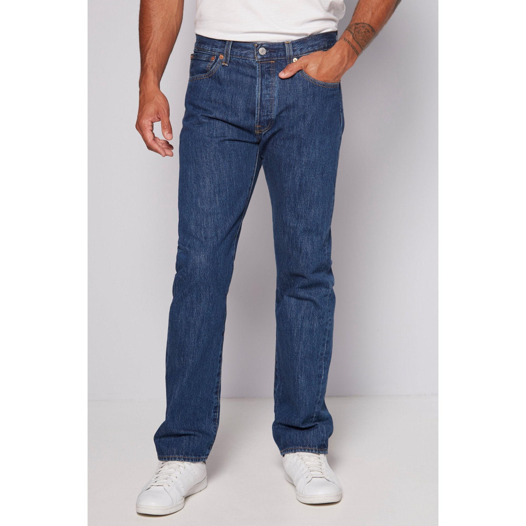 Image of Levis 501 Straight Fit Jeans