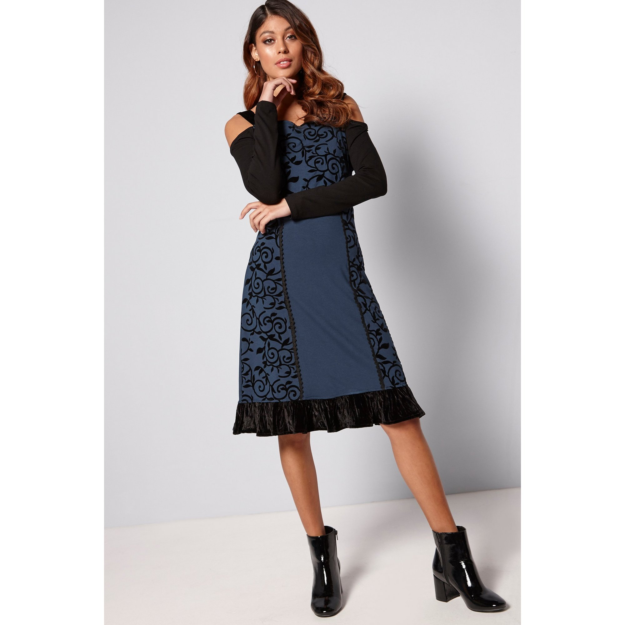 Image of Joe Browns Cold Shoulder Dress