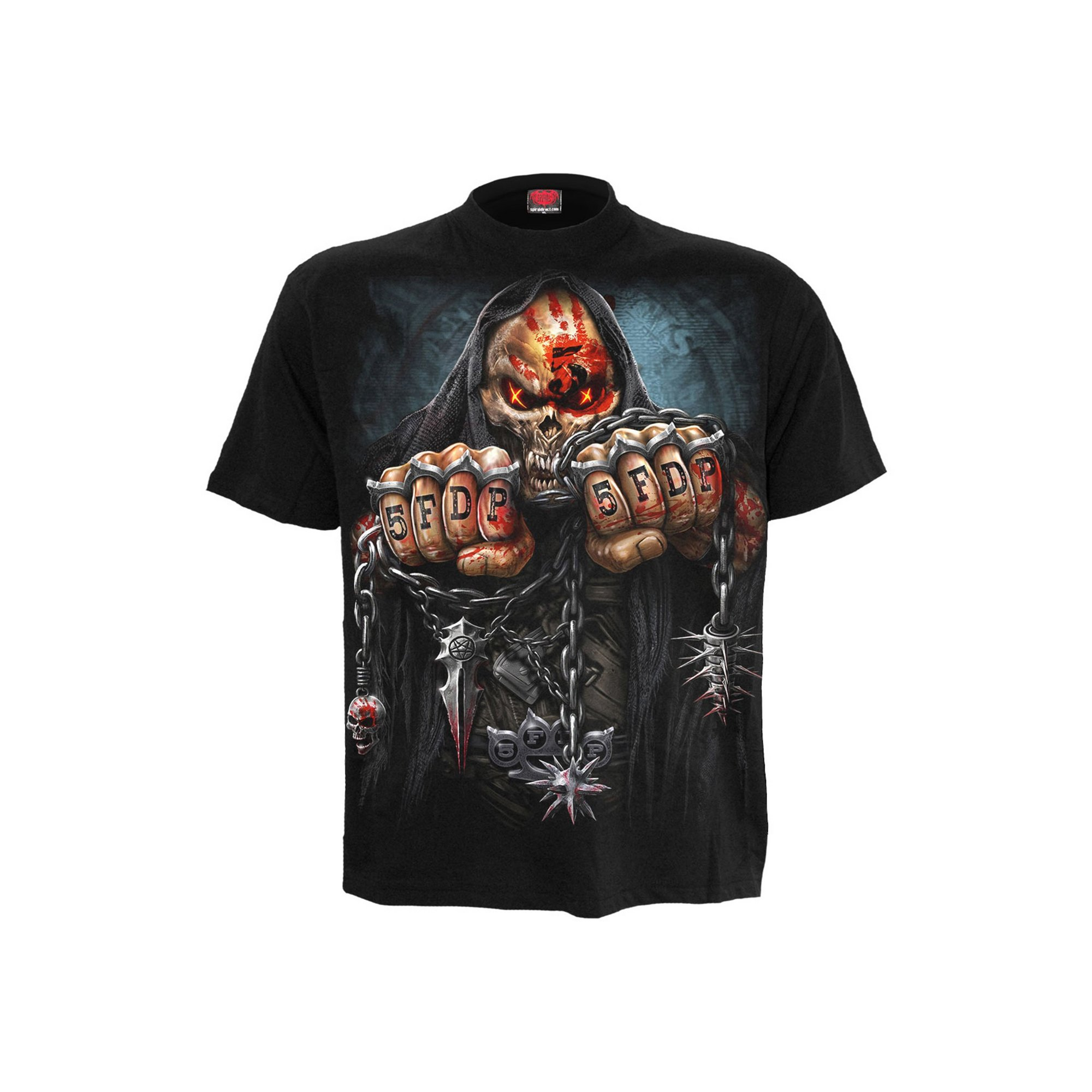 Image of 5FDP Game Over Band T-Shirt