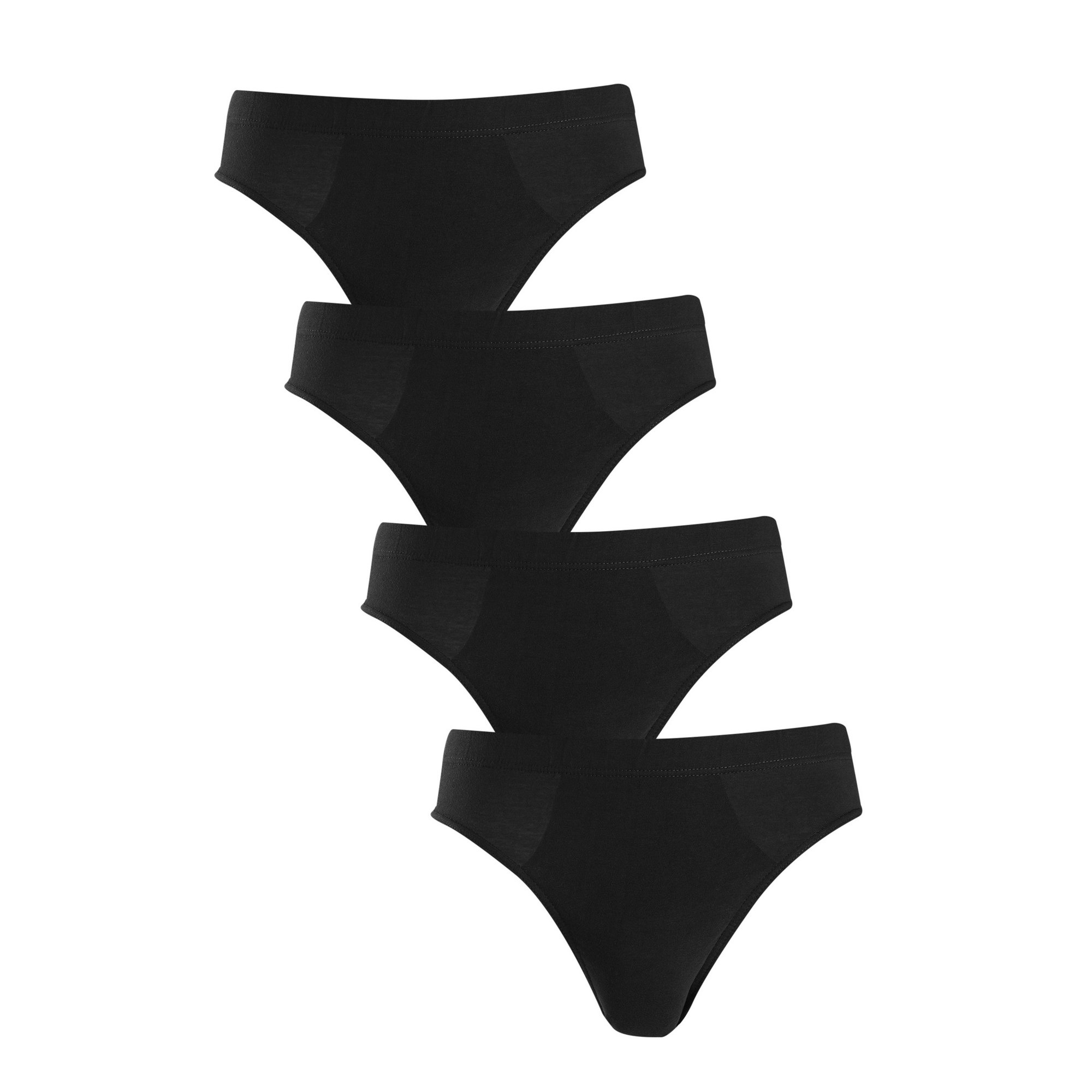 Image of Basic Pack of 4 Briefs