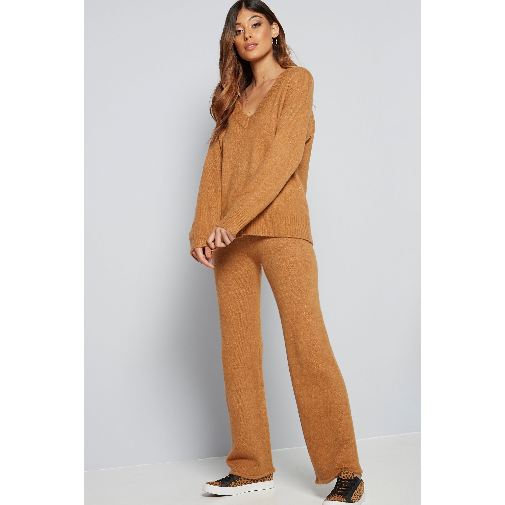 Image of Brave Soul Knitted Trouser Set