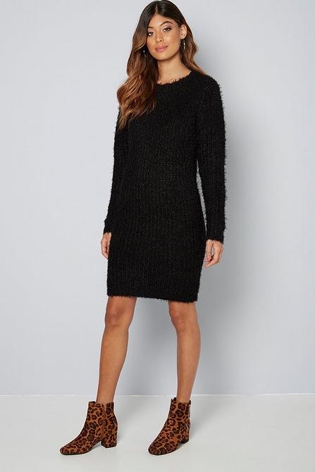outlet sale big sale hot-selling newest Brave Soul Fluffy Jumper Dress