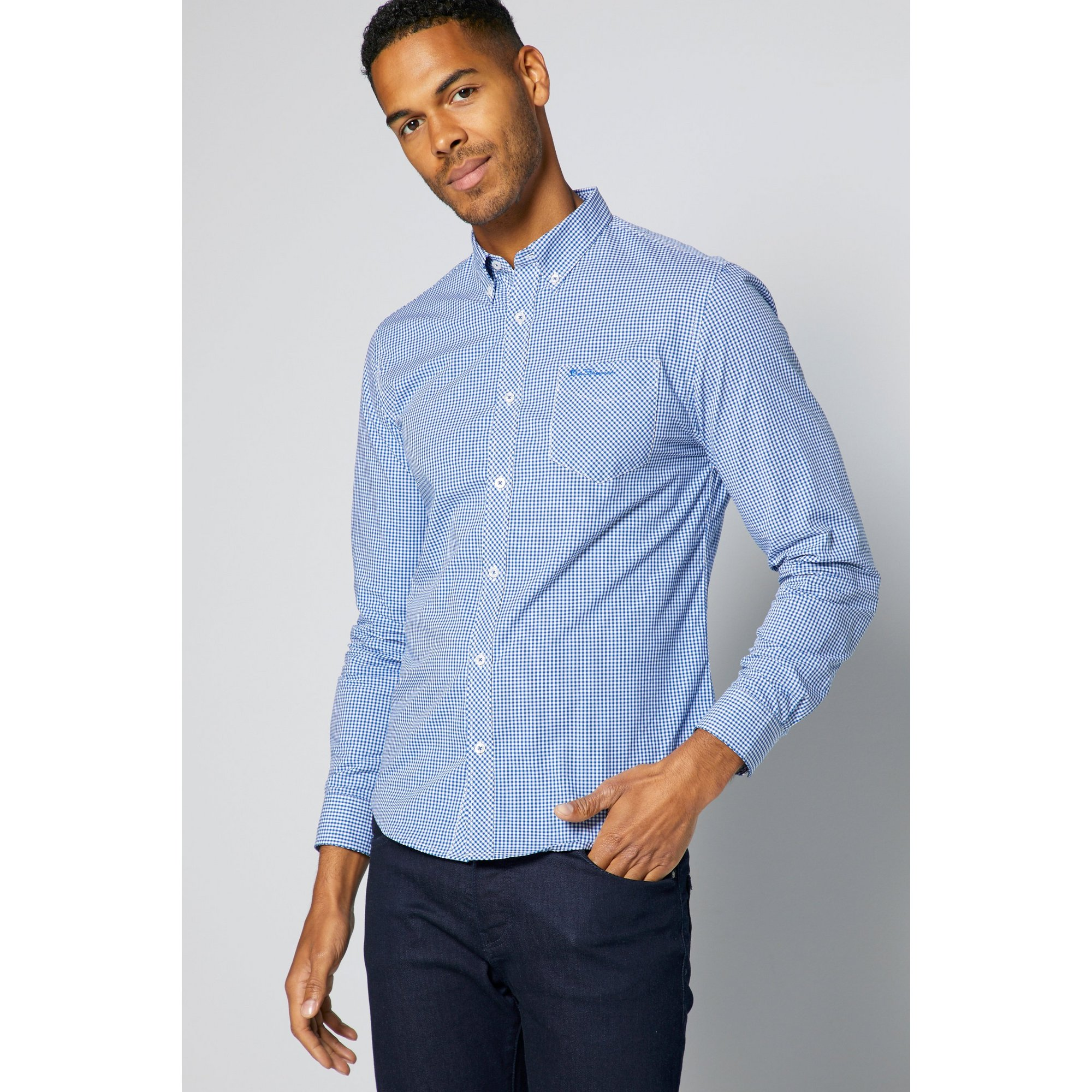 Image of Ben Sherman Classic Gingham Check Shirt