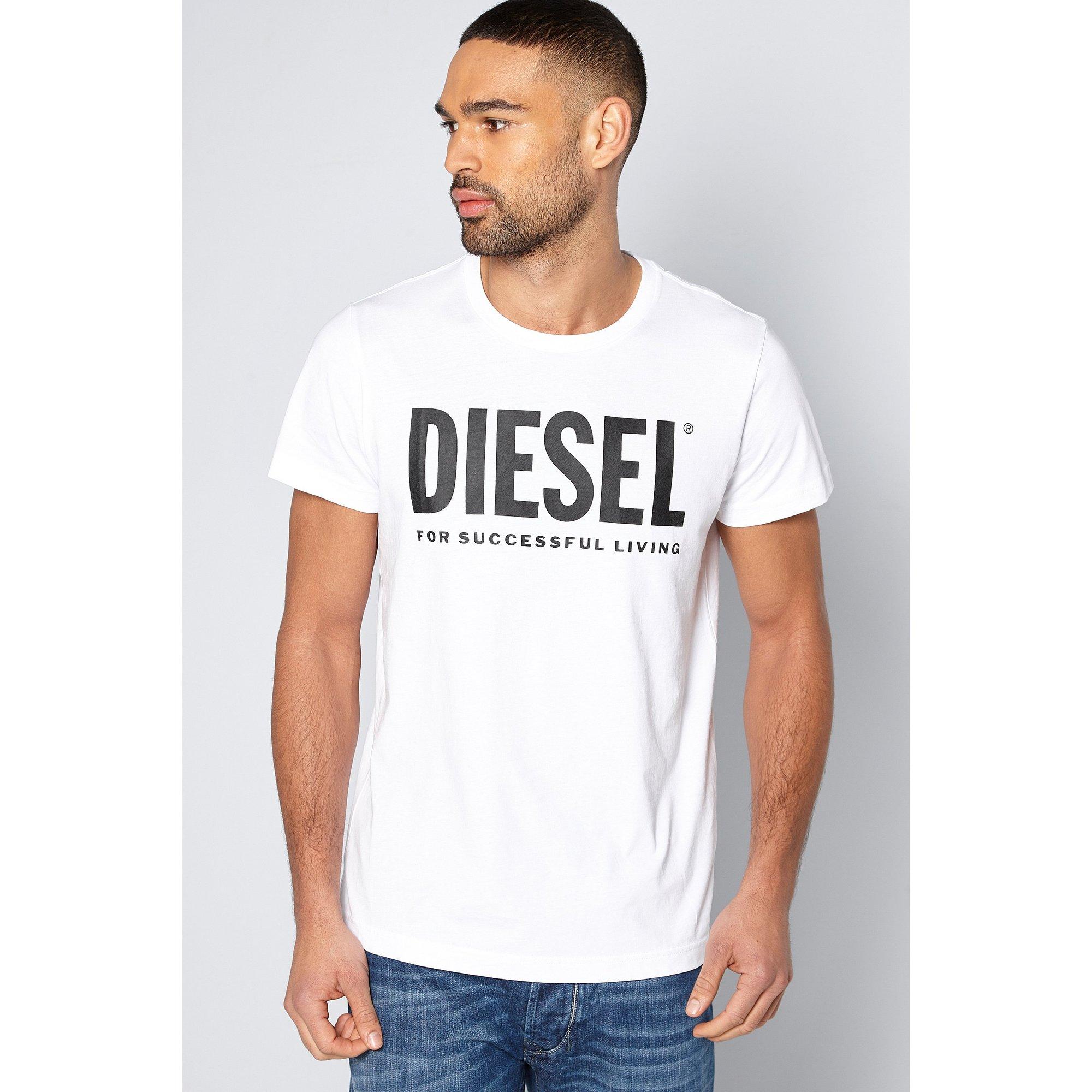 Image of Diesel Logo T-Shirt