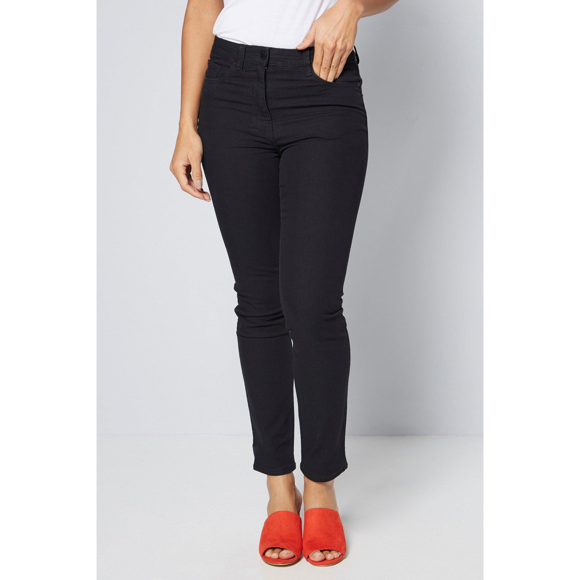 Image of Aimee Slim Fit Black Jeans