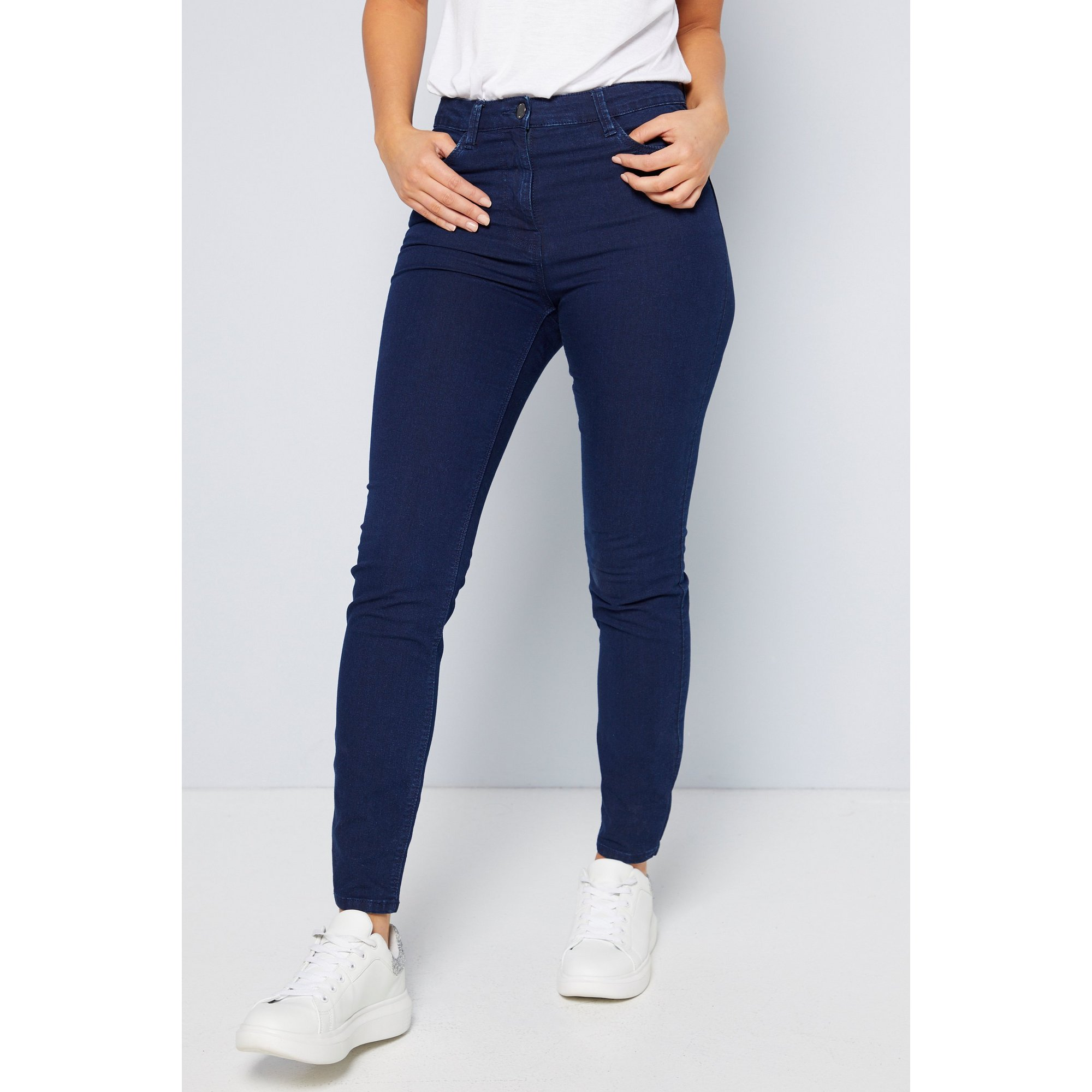 Image of Aimee Slim Fit Indigo Jeans