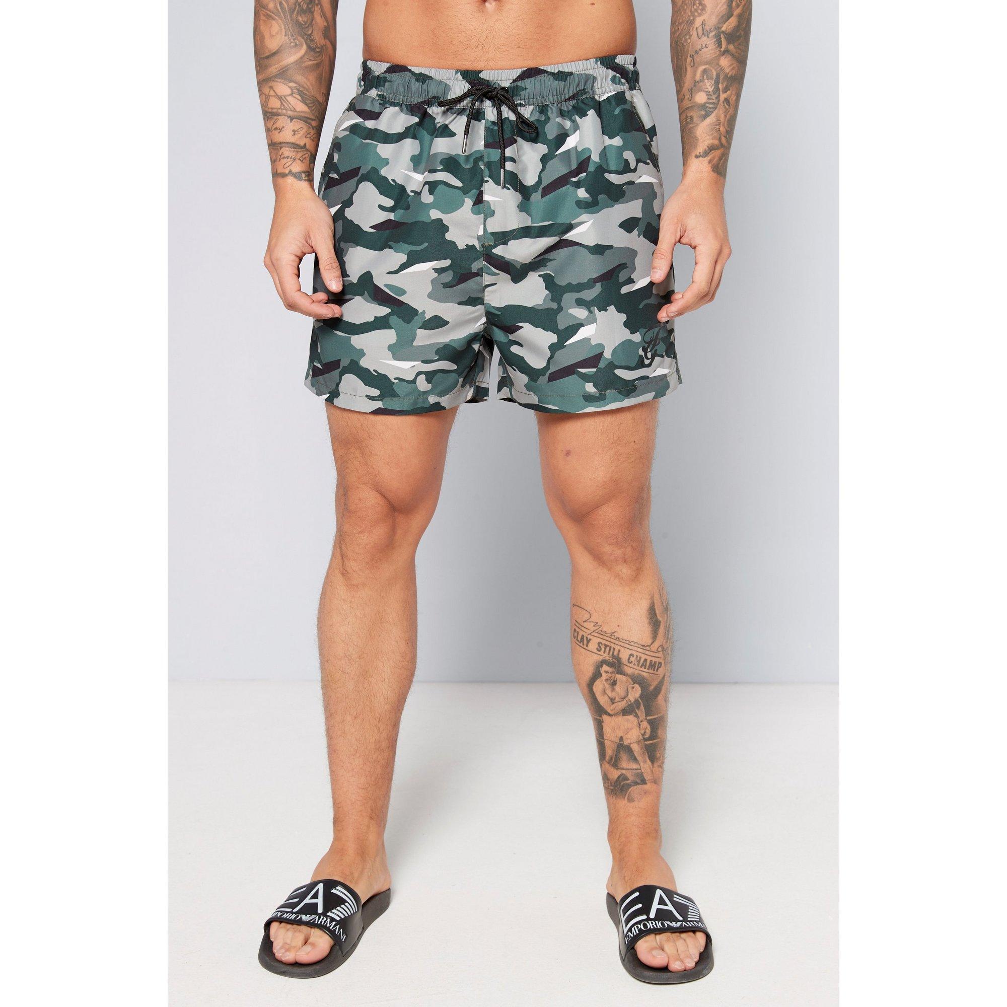 Image of Camo Swim Shorts
