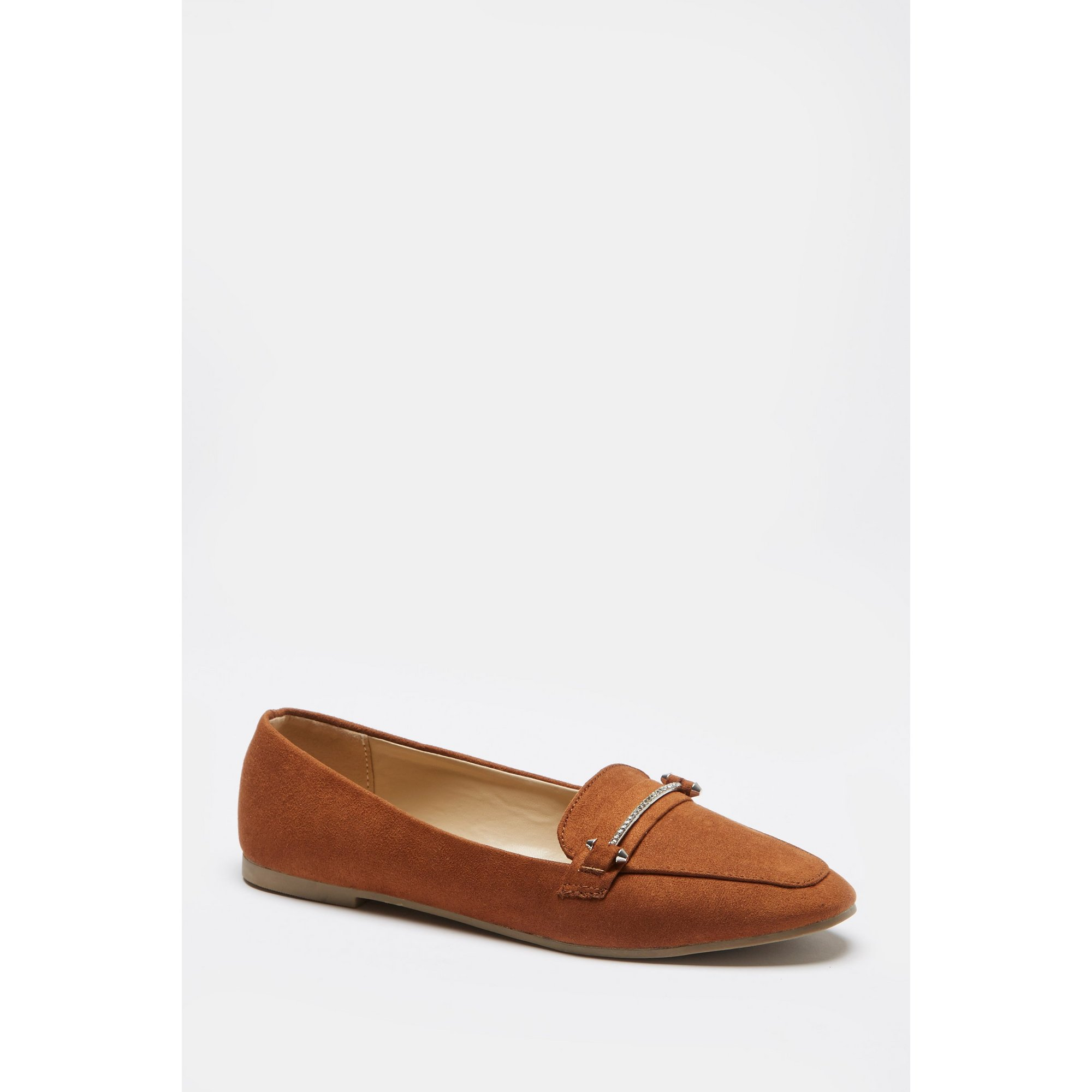 Image of Bling Trim Loafer Shoes