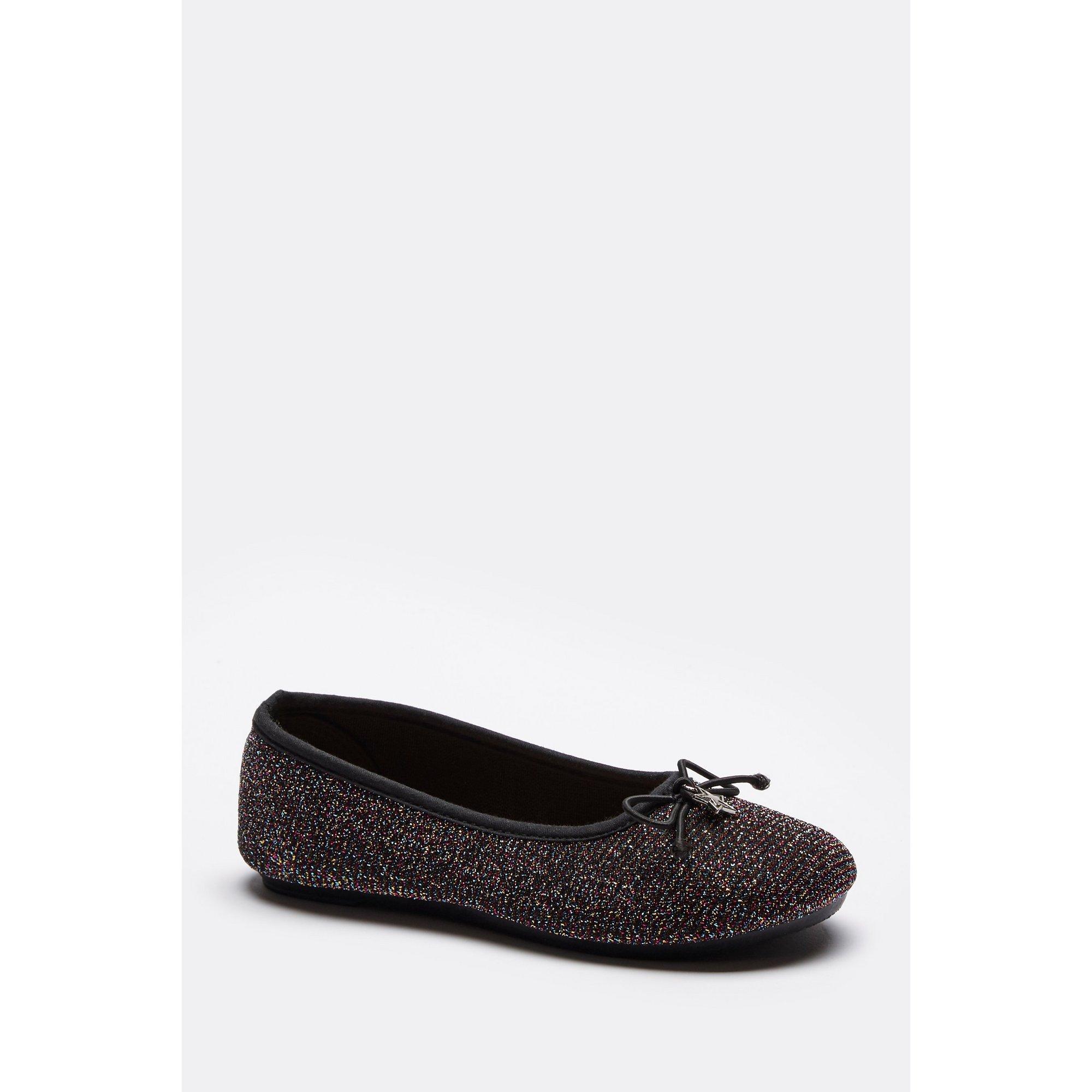Image of Girls Glitter Ballerina Shoes