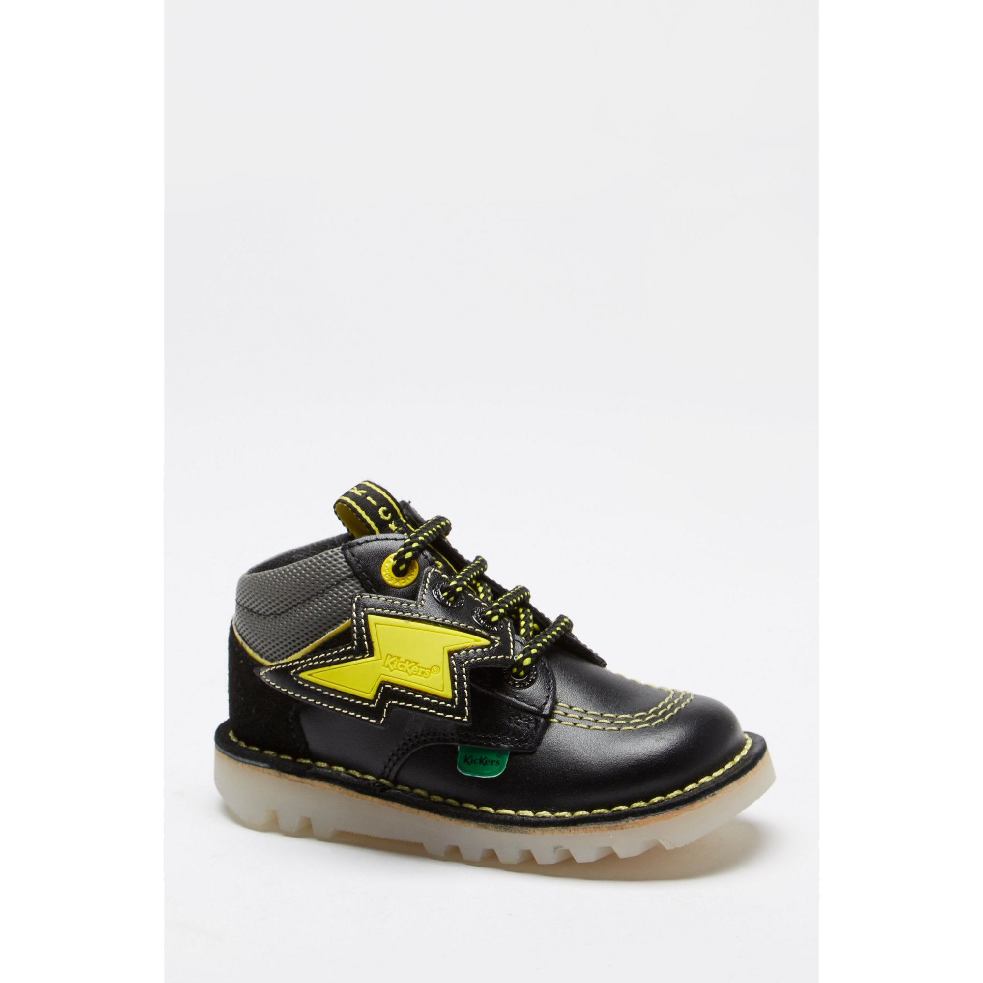 Image of Kickers Trukka Bolt Leather Boots