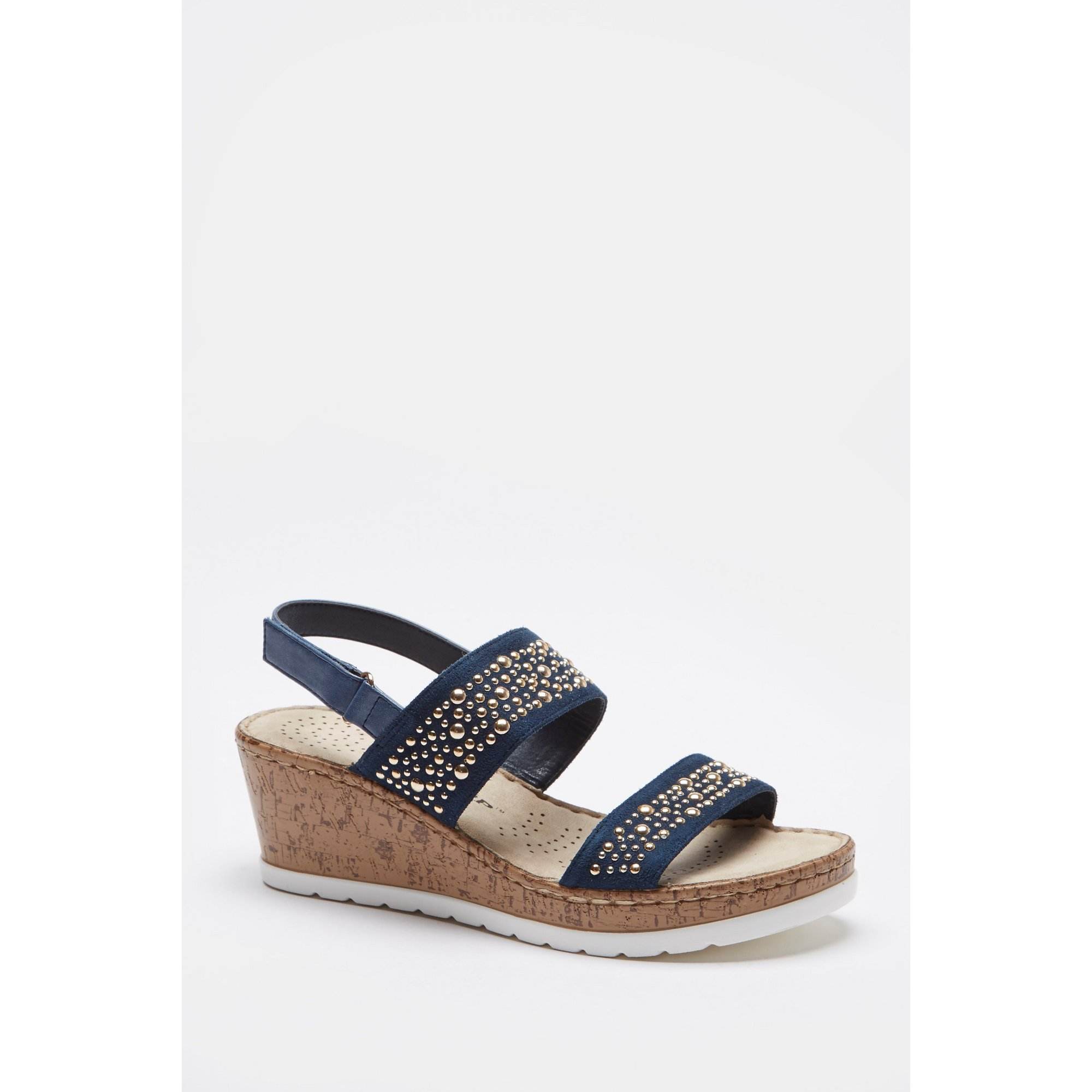 Image of Dunlop Diamante Wedge Sandals