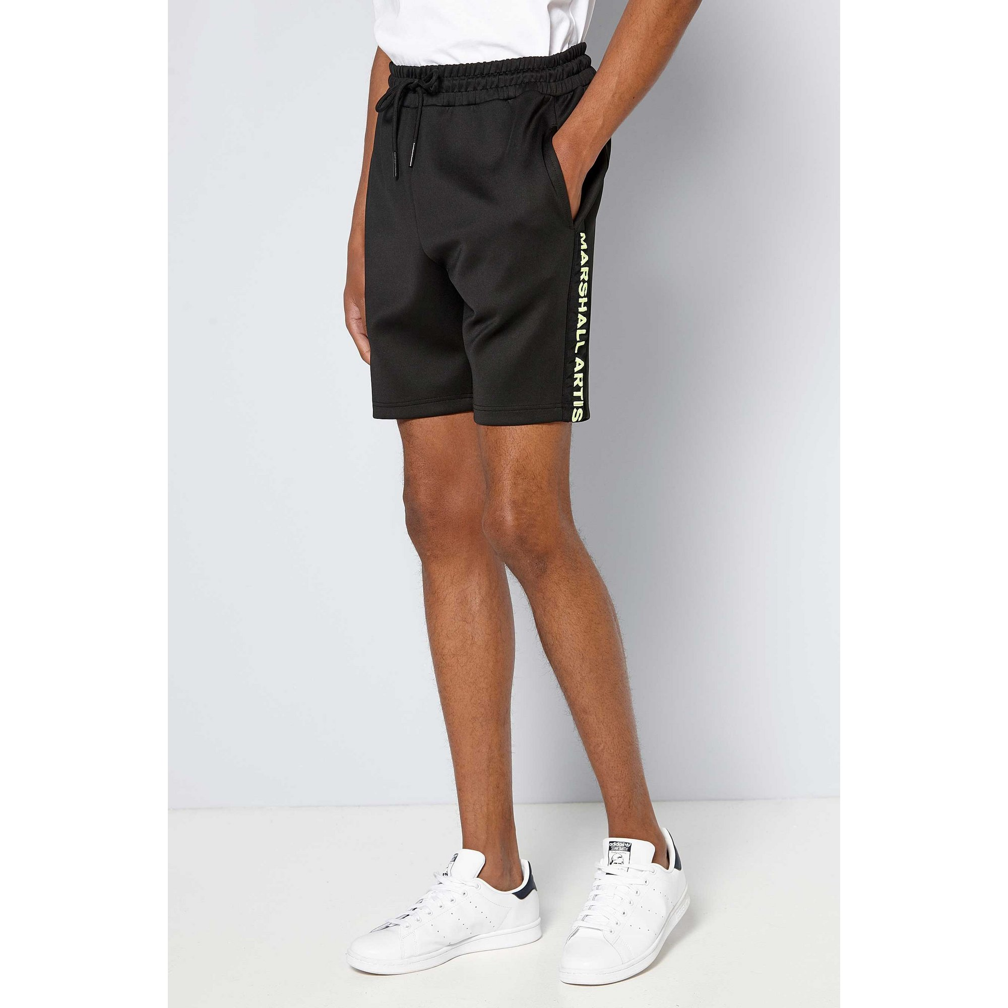 Image of Marshall Artist Black Cadence Shorts
