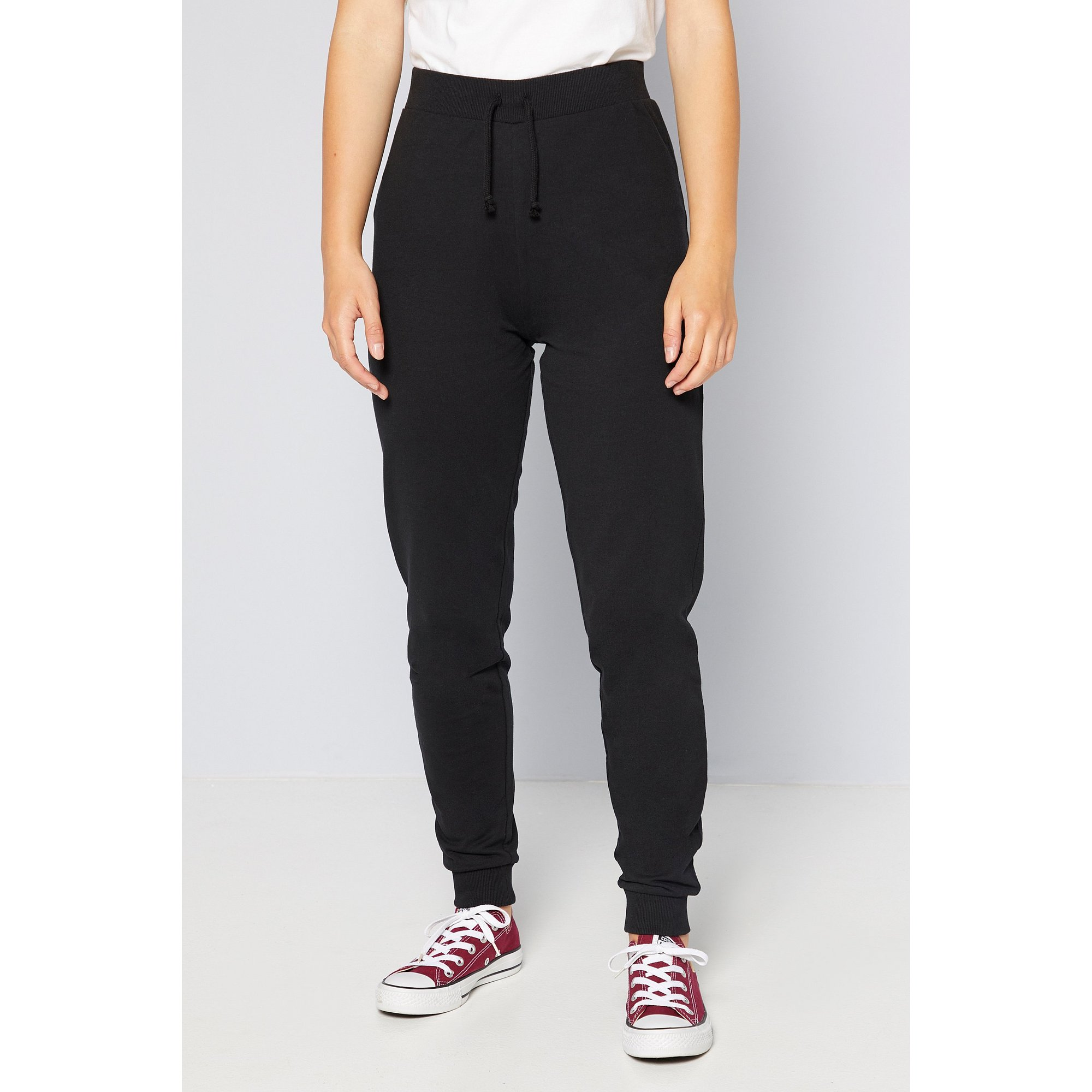 Image of Girls Black Joggers