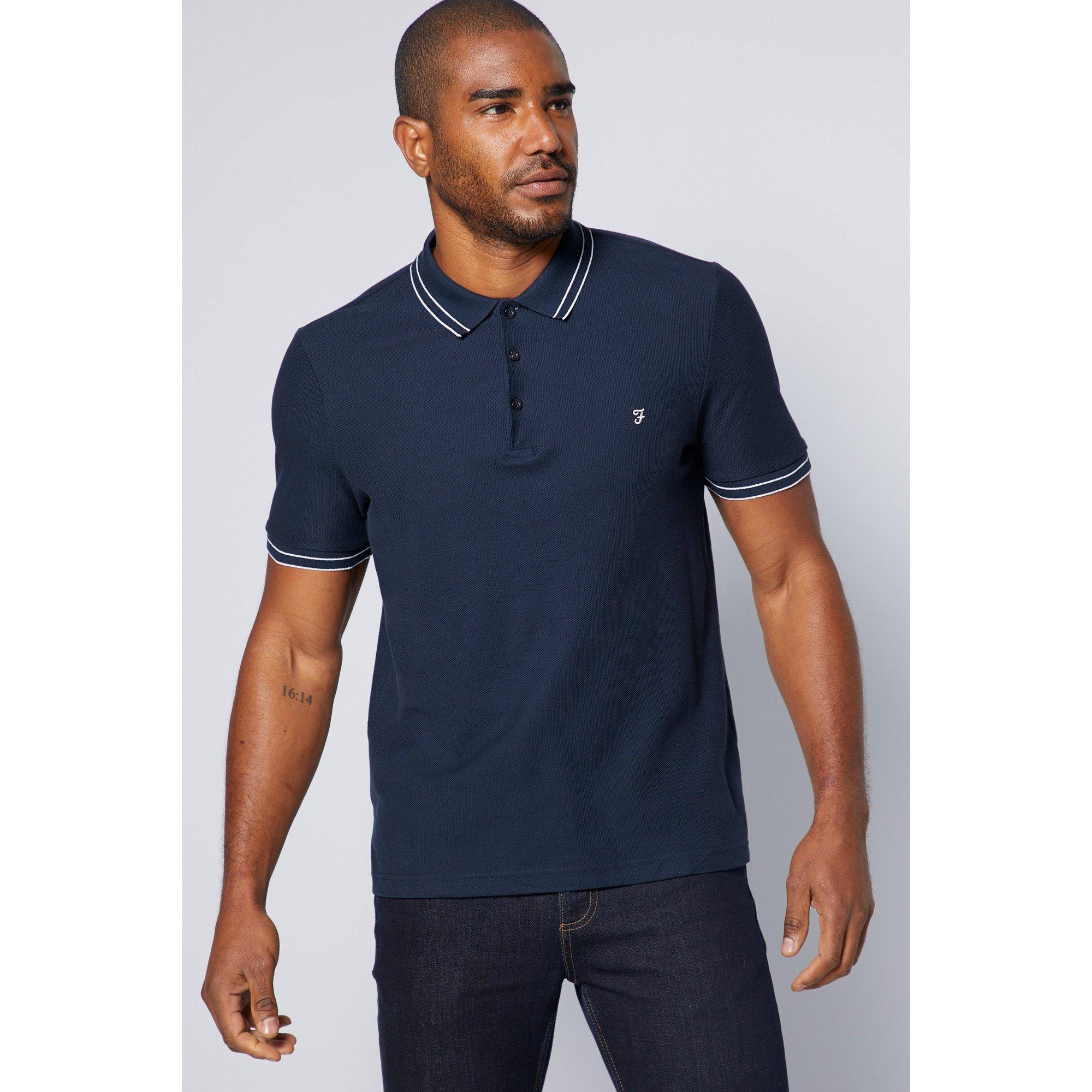 Image of Farah Tipped Polo Shirt