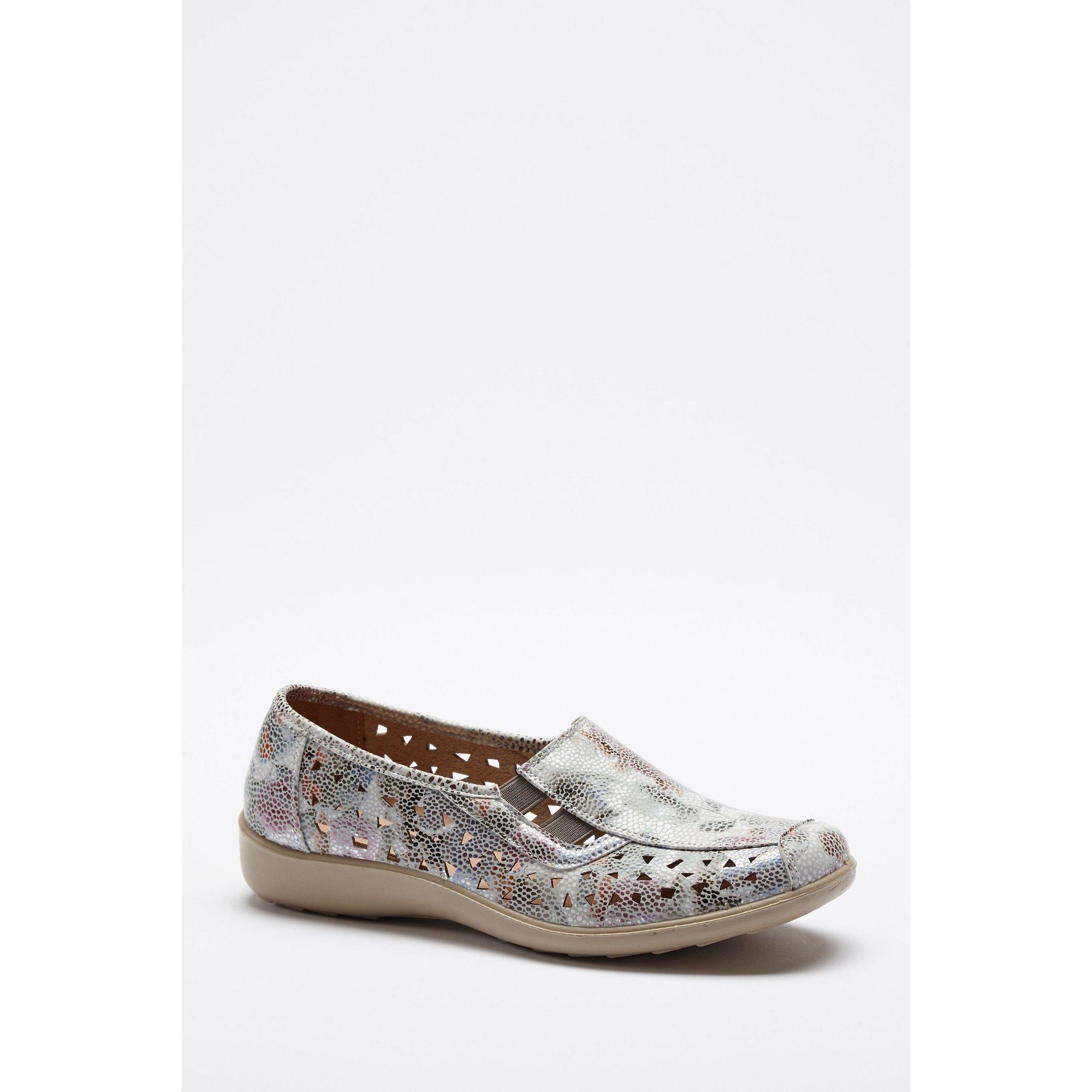 Image of Cushion Walk Gemma Floral Slip-On Shoes