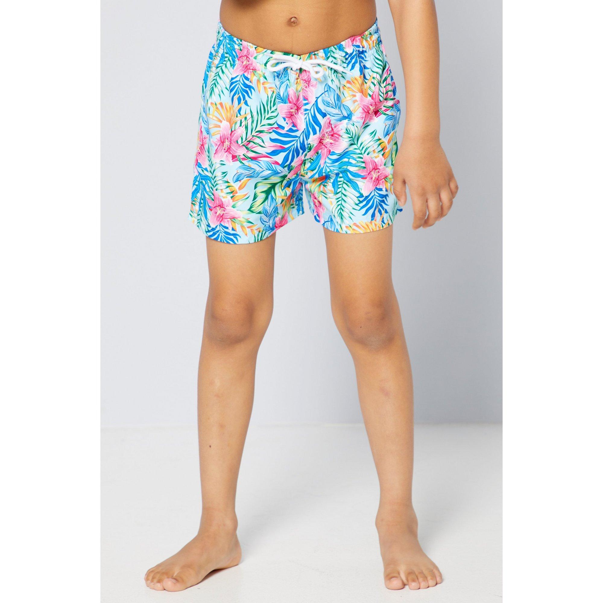 Image of Boys Rainbow Island Family Swim Shorts