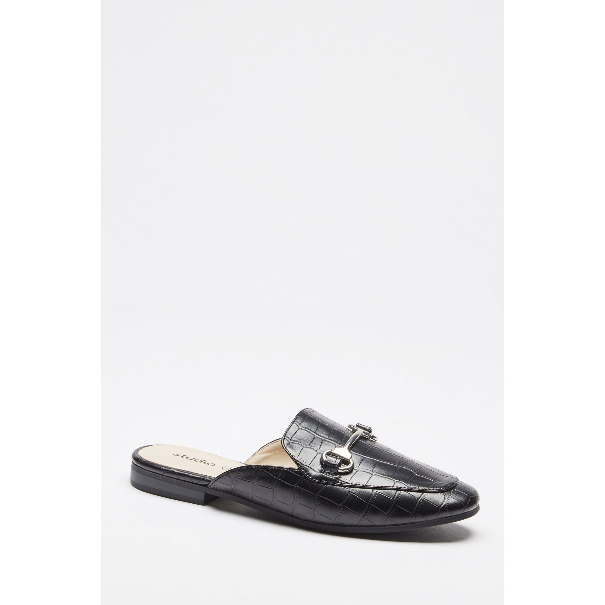 Image of Backless Mule Loafers