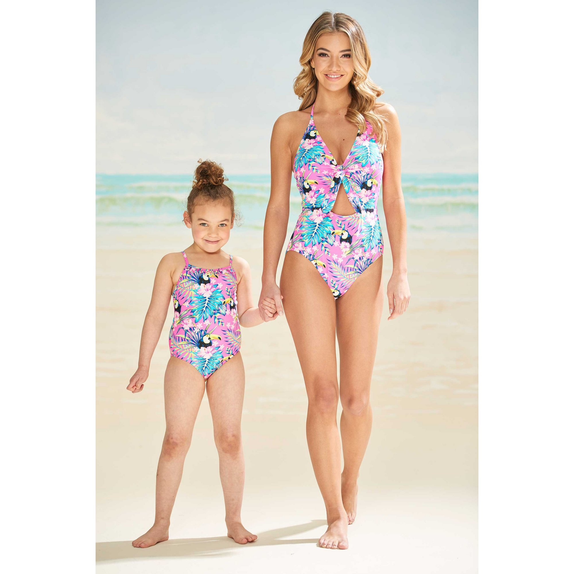 Image of Girls Toucan Swimsuit