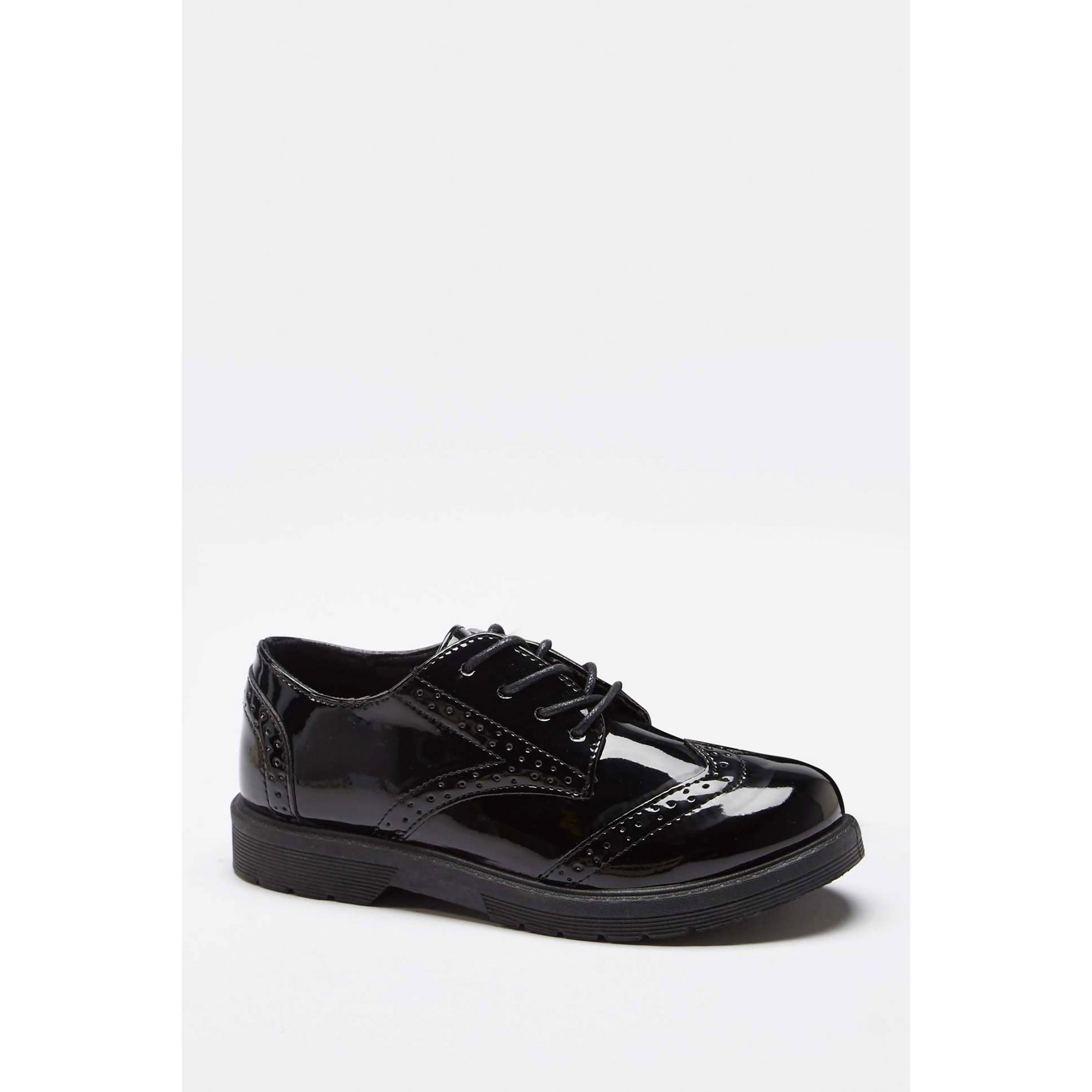 Image of Girls Lace Up Brogue Shoes