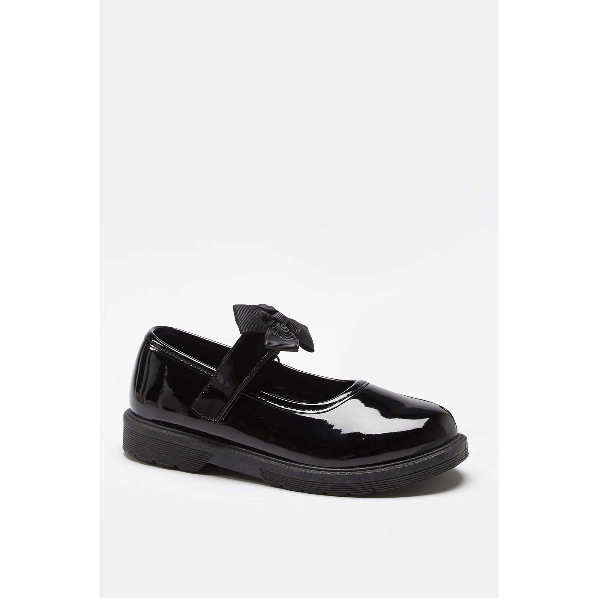 Image of Girls Chunky Bow Strap Shoes