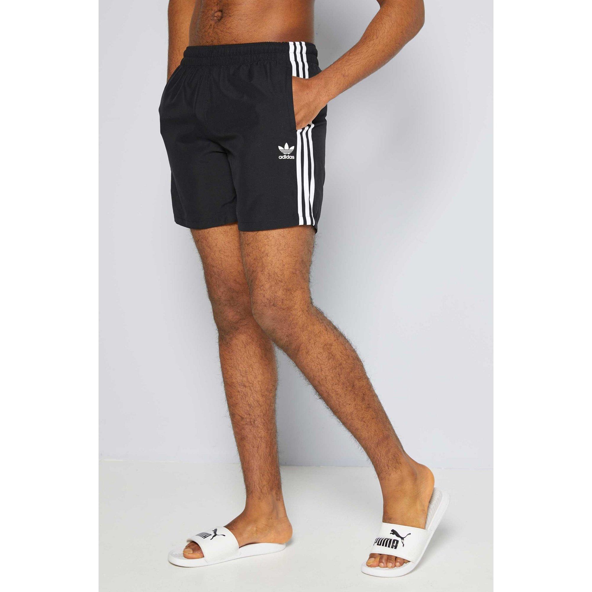 Image of adidas Originals 3 Stripe Swim Shorts