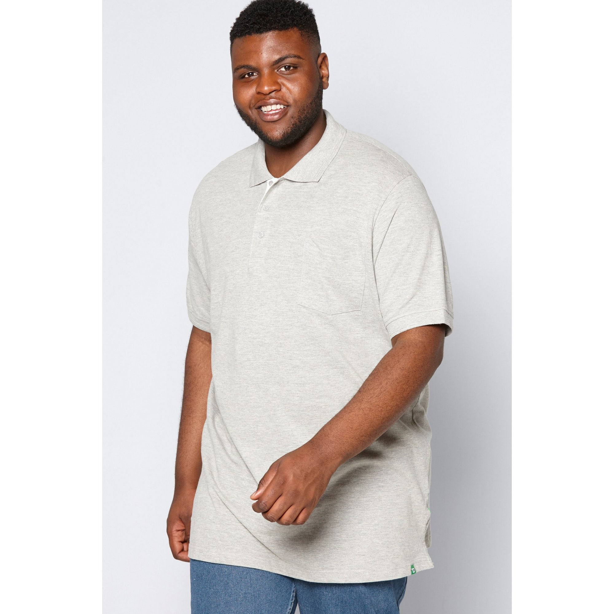 Image of D555 by Duke Big and Tall Pique Polo Shirt
