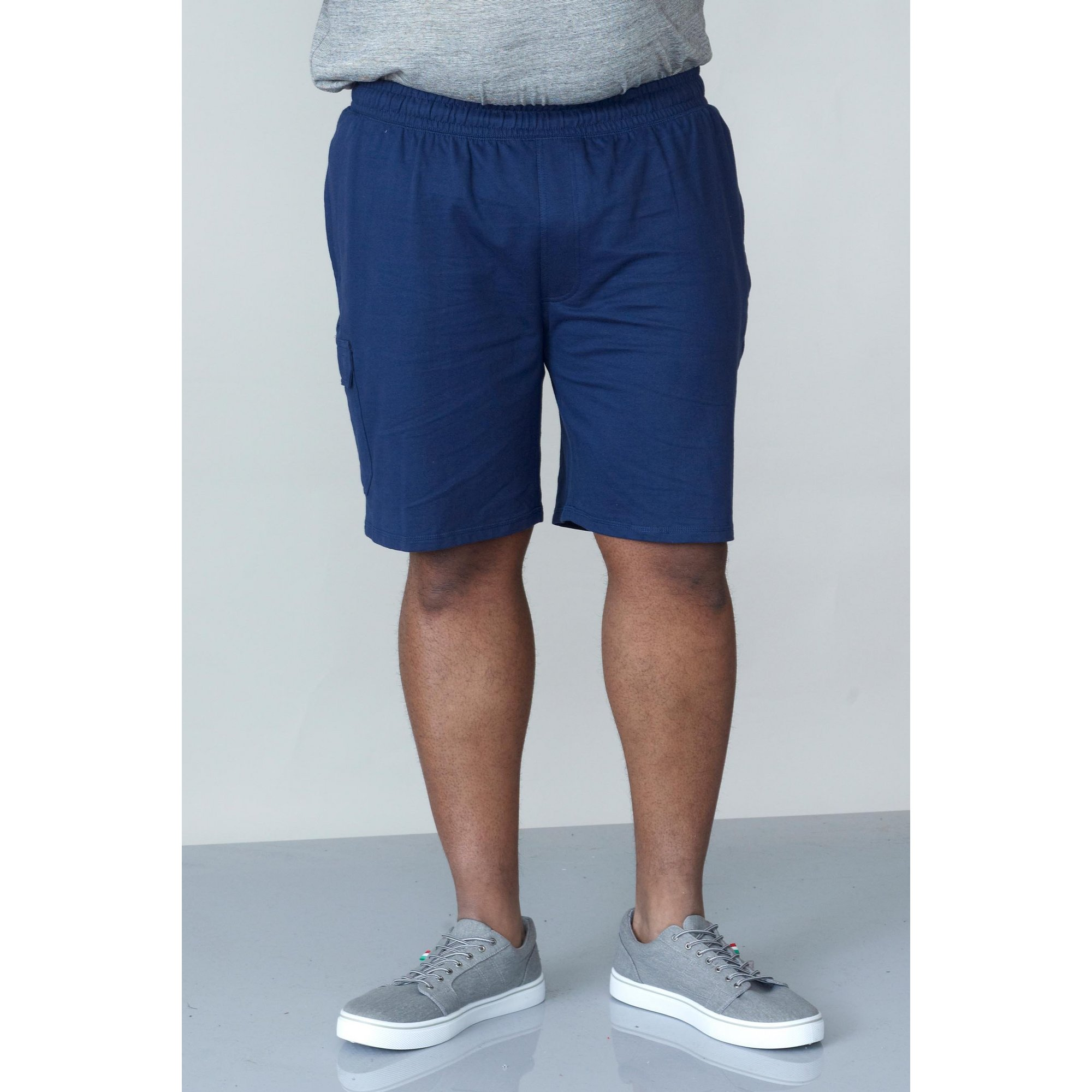 Image of D555 by Duke Big and Tall Cotton Cargo Shorts