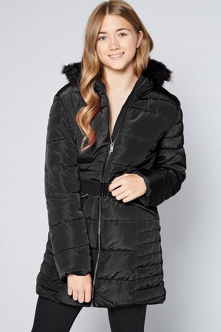 Buy Girls Schoolwear Oldergirls Youngergirls Parka Coats