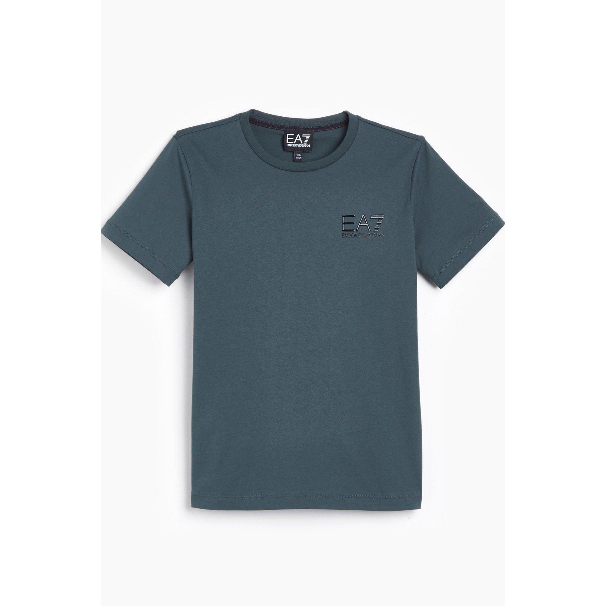 Image of Boys EA7 Train Core ID Grey T-Shirt