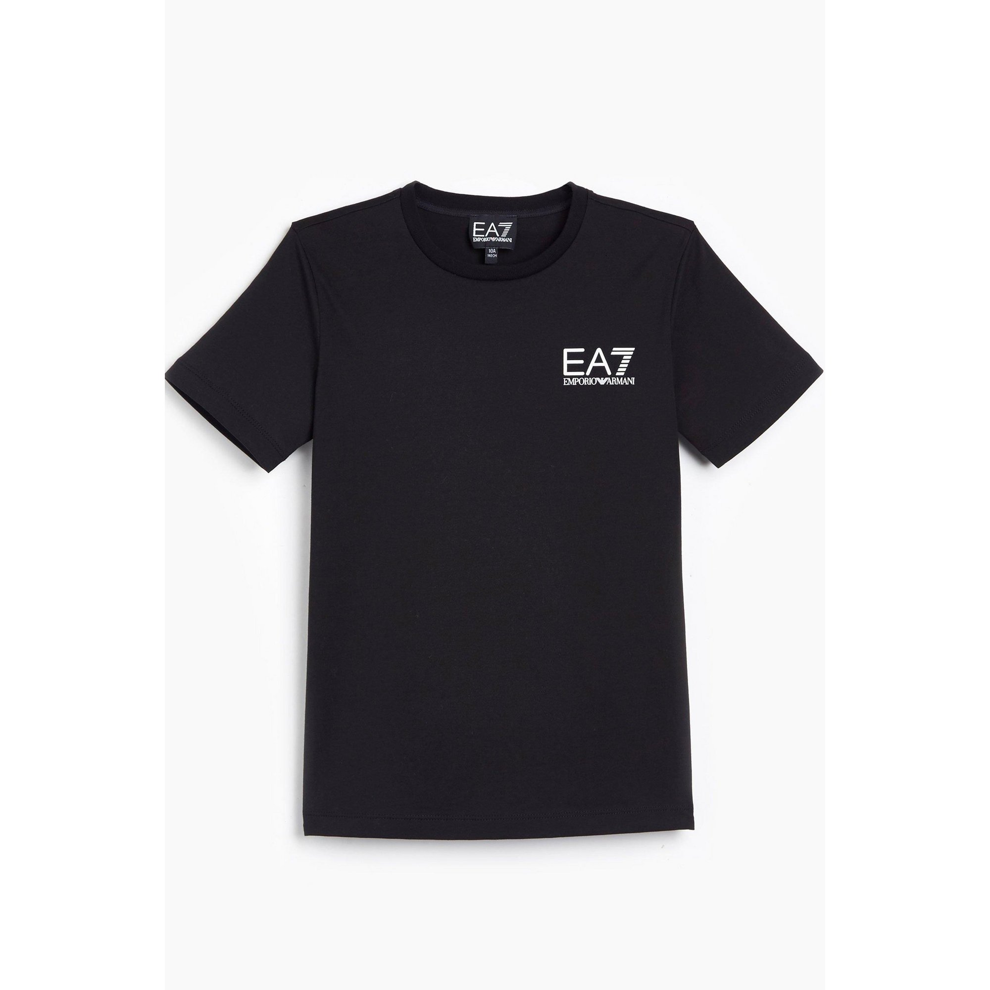 Image of Boys EA7 Train Core ID Black T-Shirt