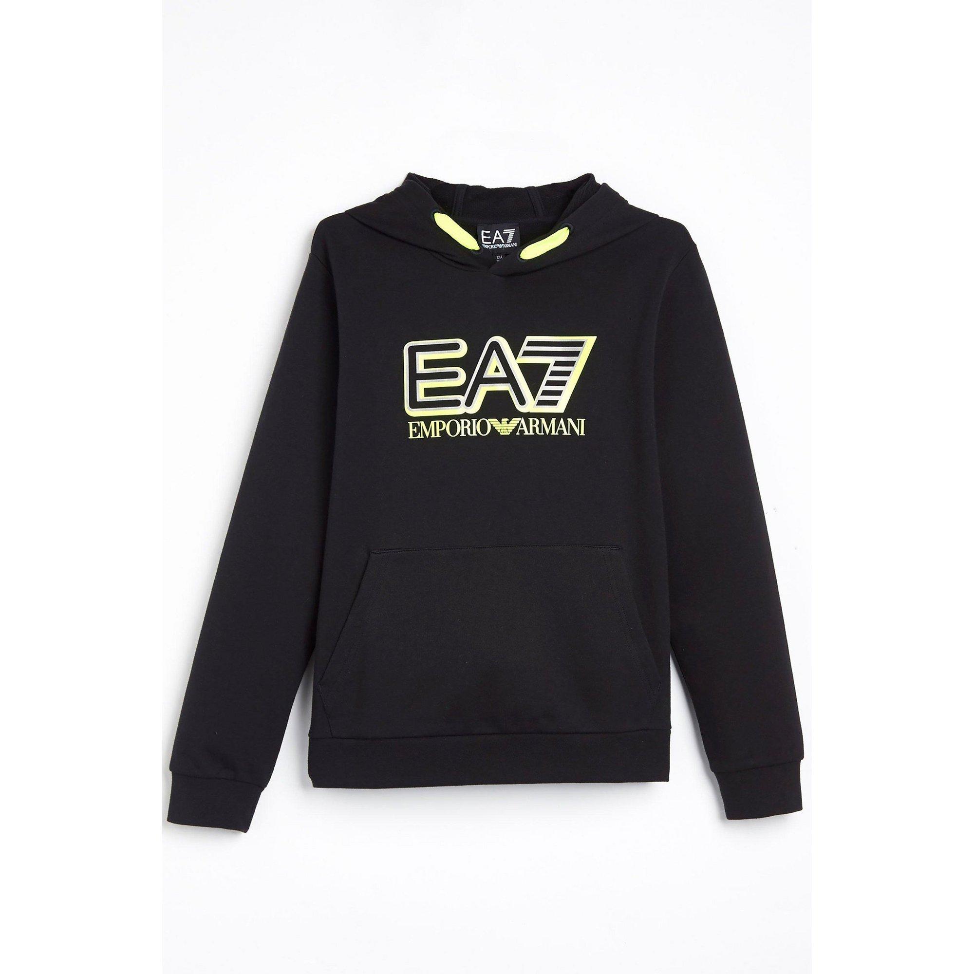 Image of Boys EA7 Train Visibility Hoody