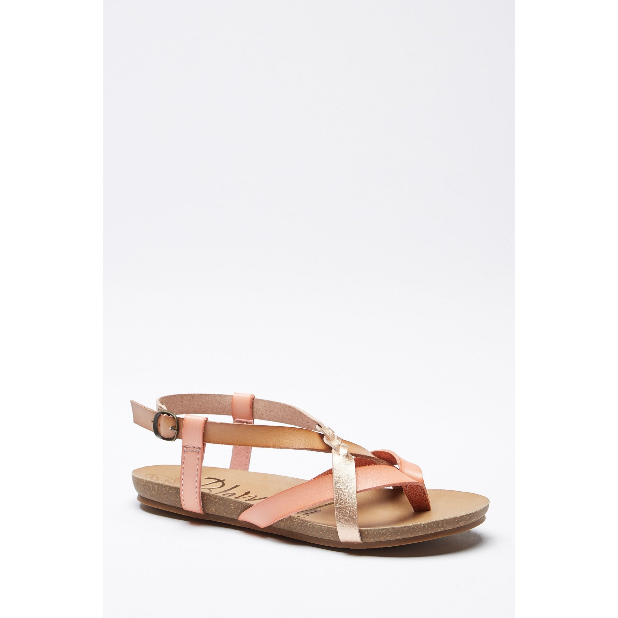 Image of Blowfish Granola B Rose Gold Sandals