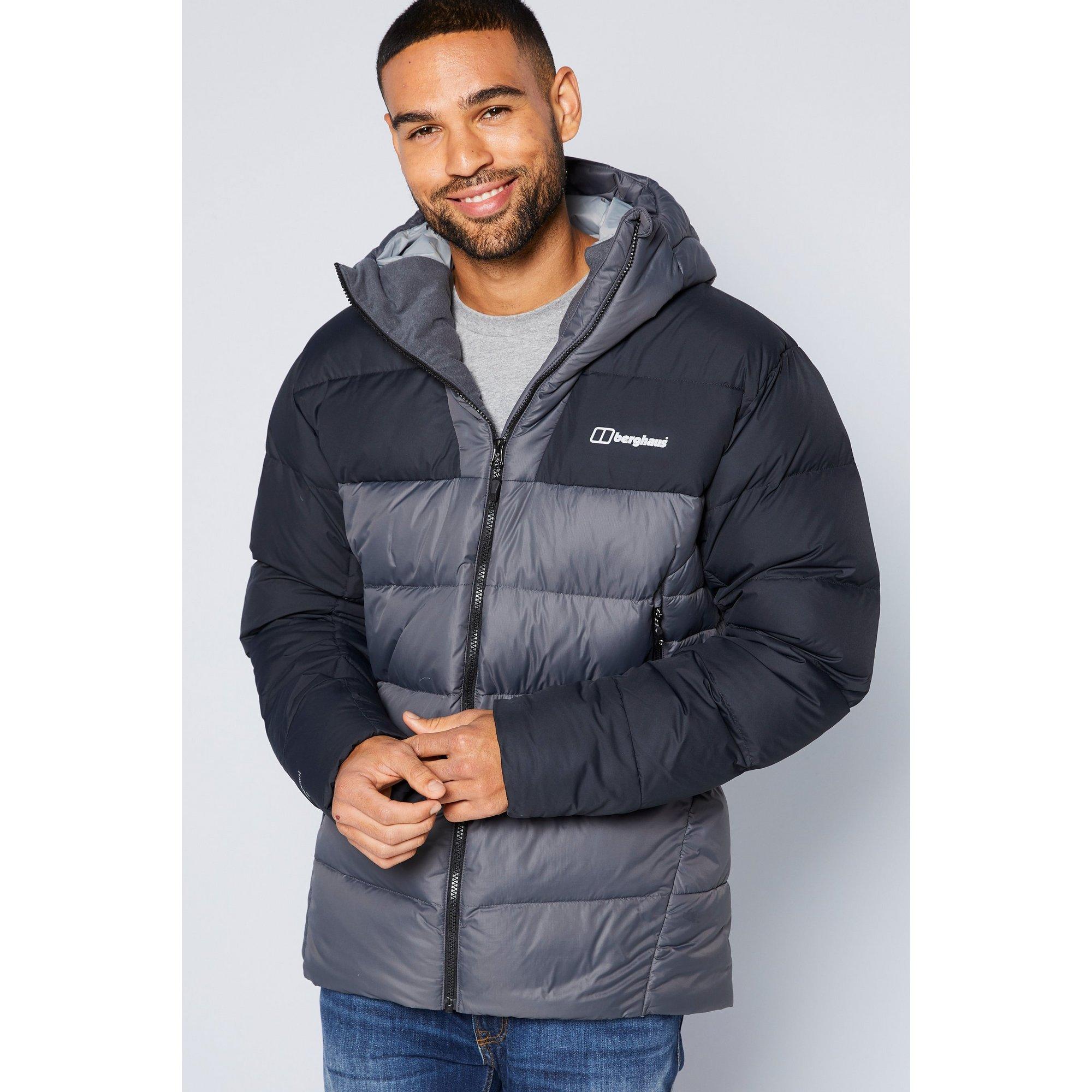Image of Berghaus Grey and Black Ronnas Reflect Jacket