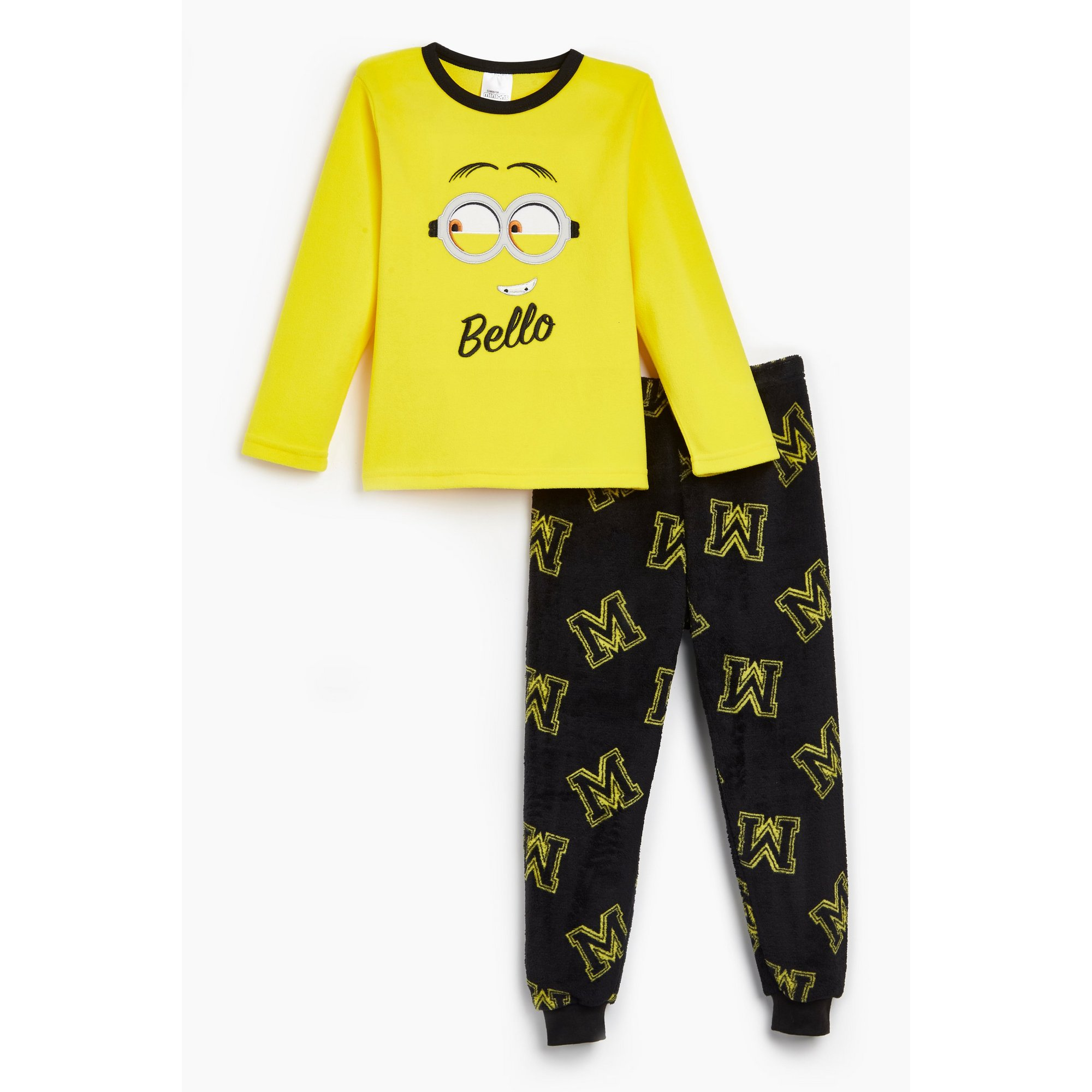 Image of Boys Minions Super Soft Fleece Twosie