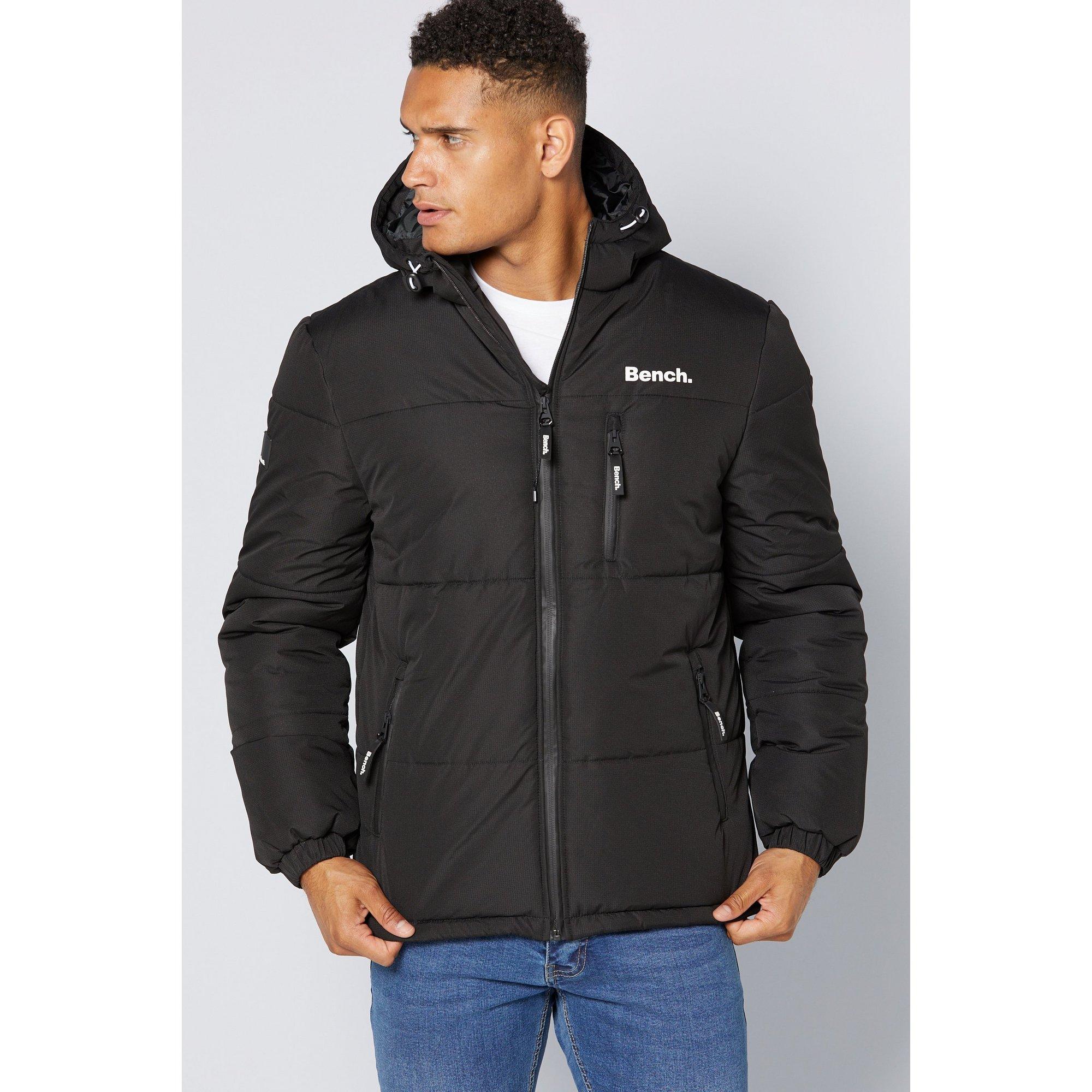 Image of Bench Black Puffer Jacket