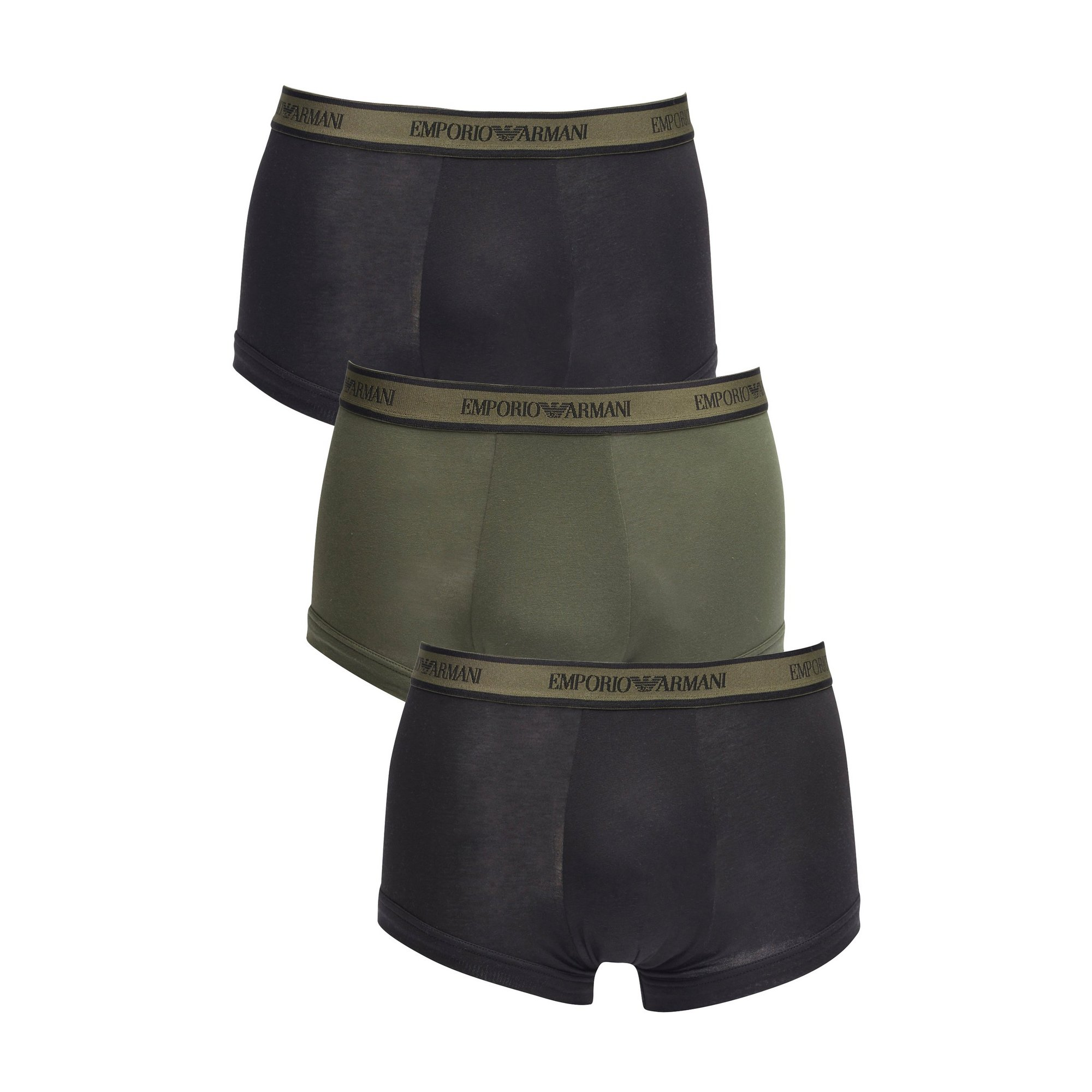 Image of Emporio Armani Pack Of 3 Trunks
