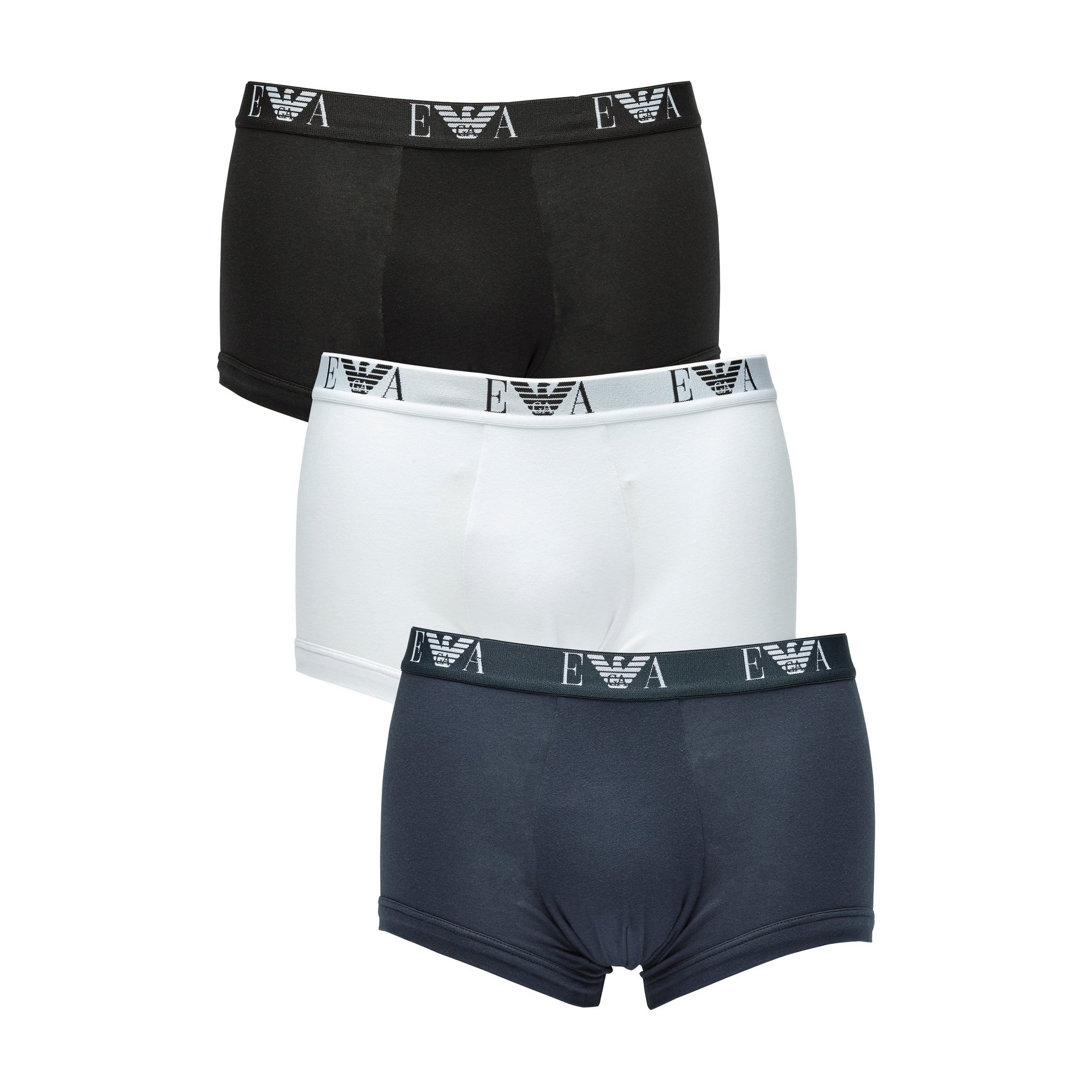 Image of Emporio Armani Core Pack of 3 Trunks