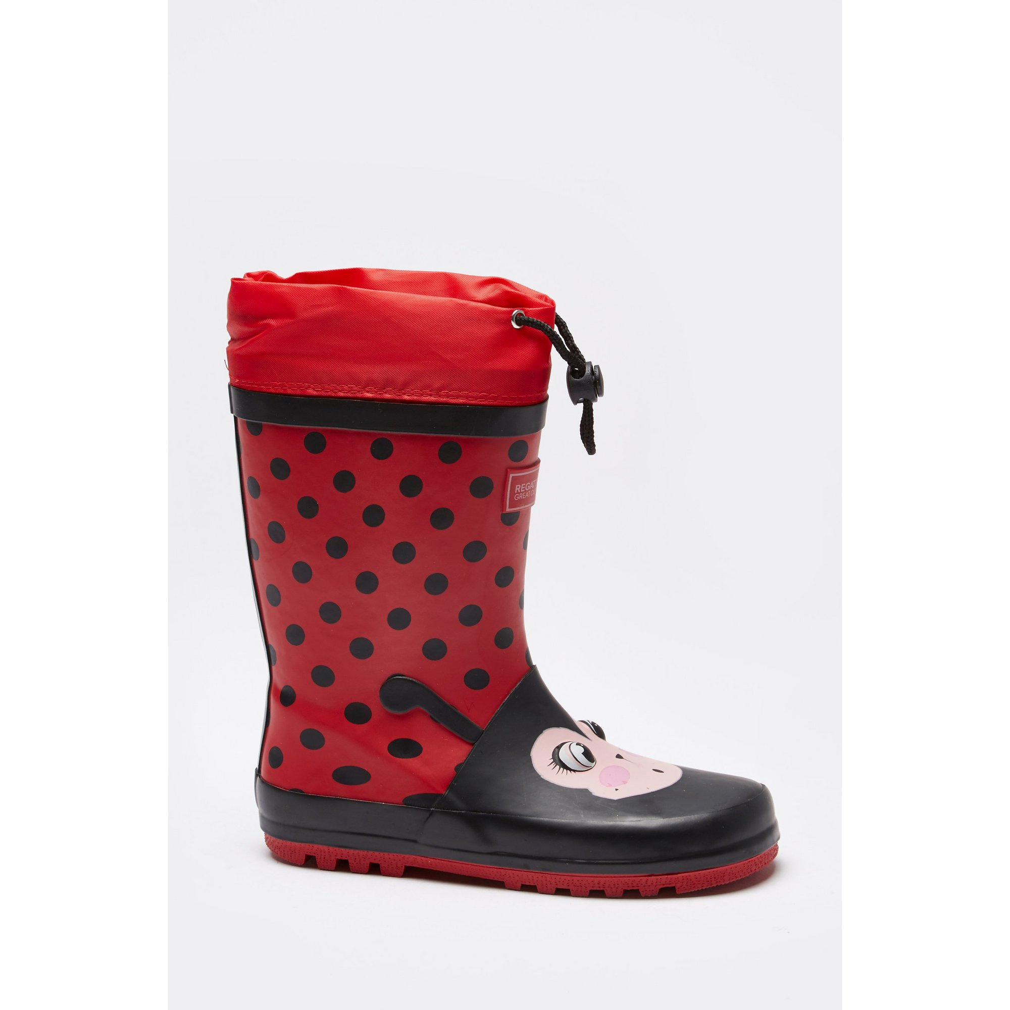 Image of Regatta Mudplay Ladybird Wellies