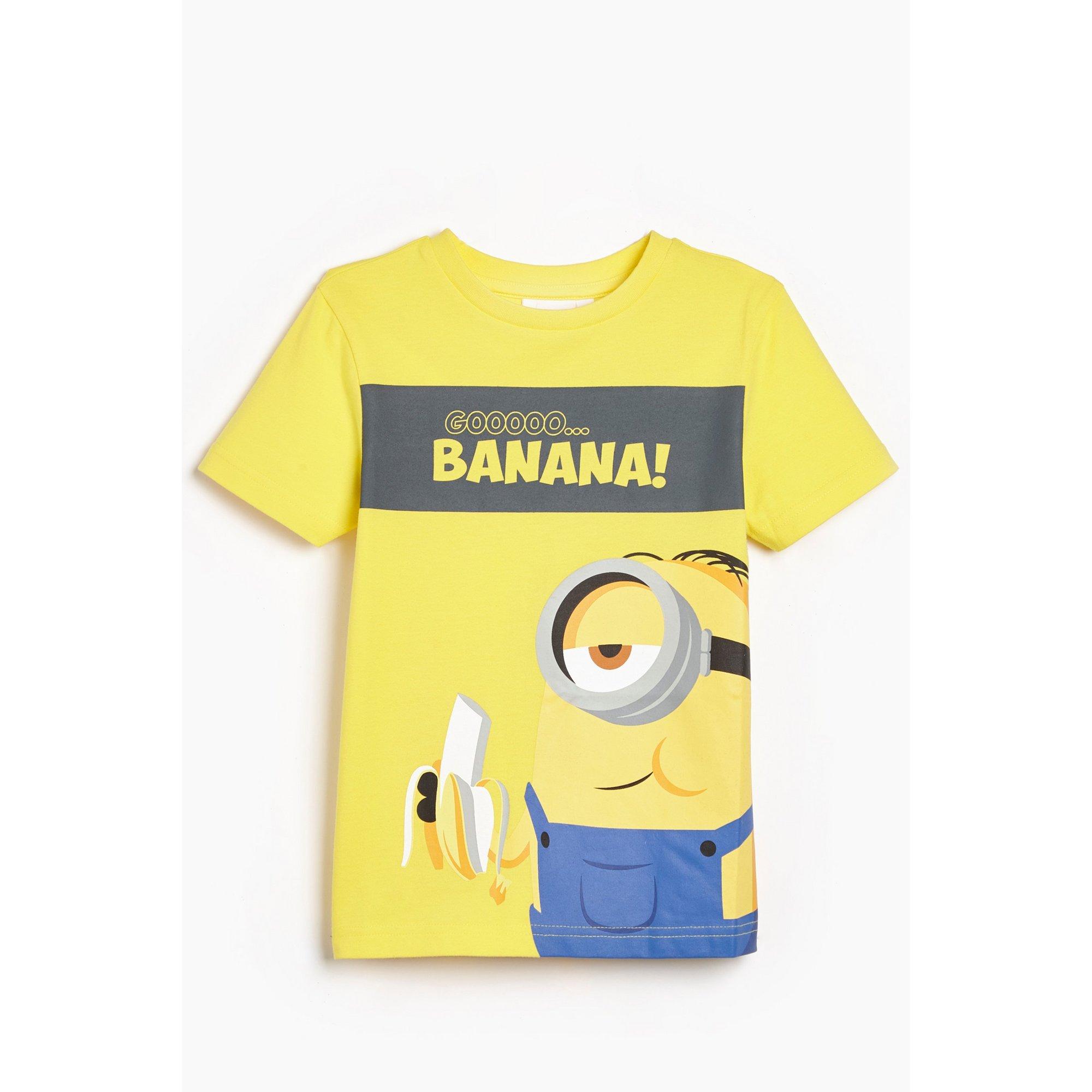 Image of Boys Minions Go Banana! T-Shirt