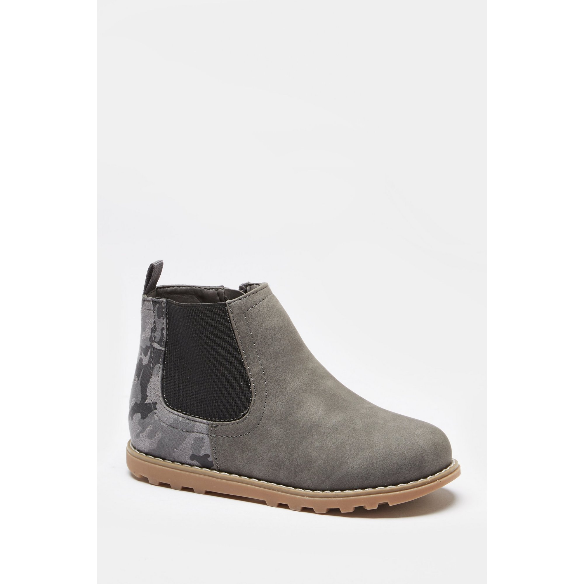 Image of Boys Grey Chelsea Boots