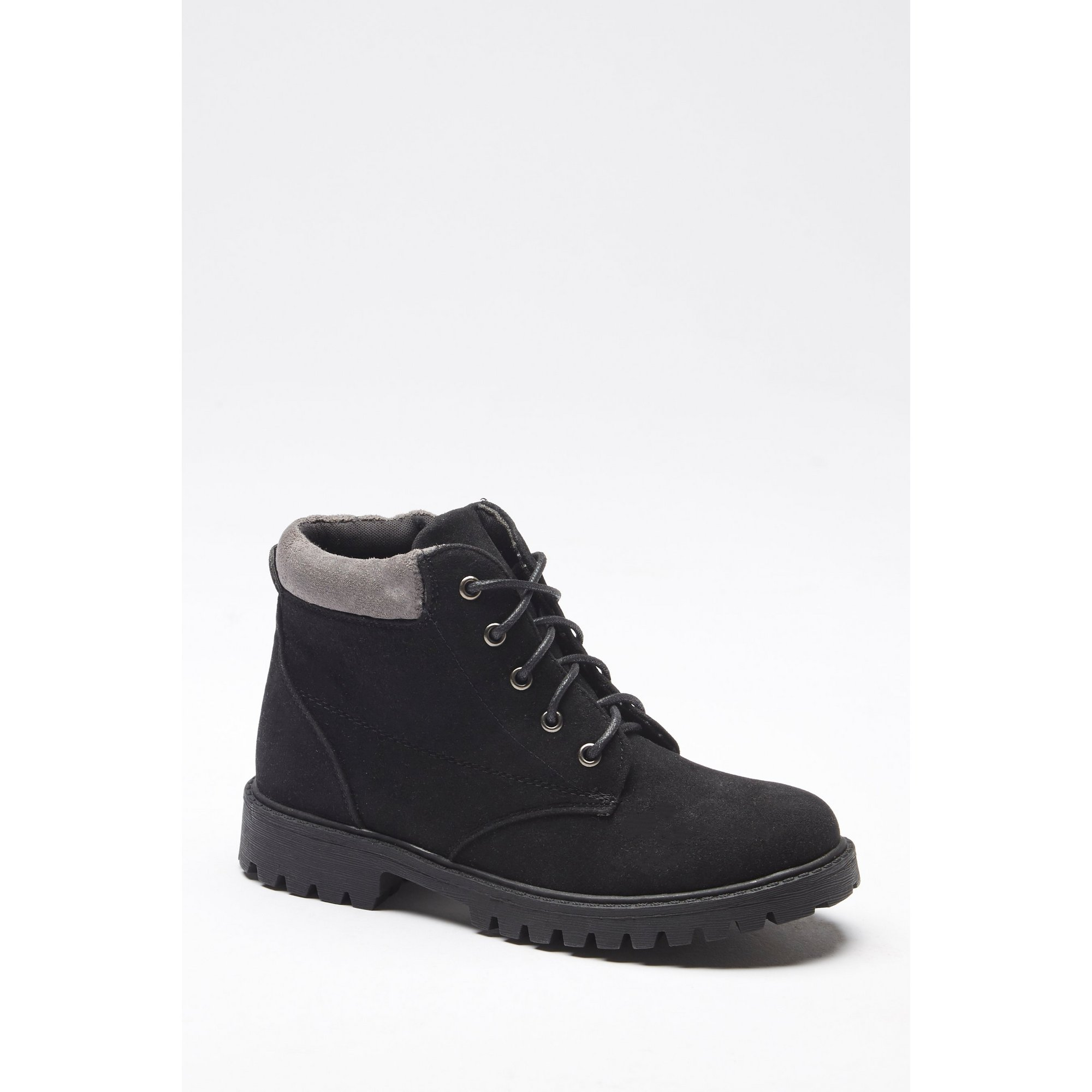Image of Boys Lace-Up Chunky Hiker Boots