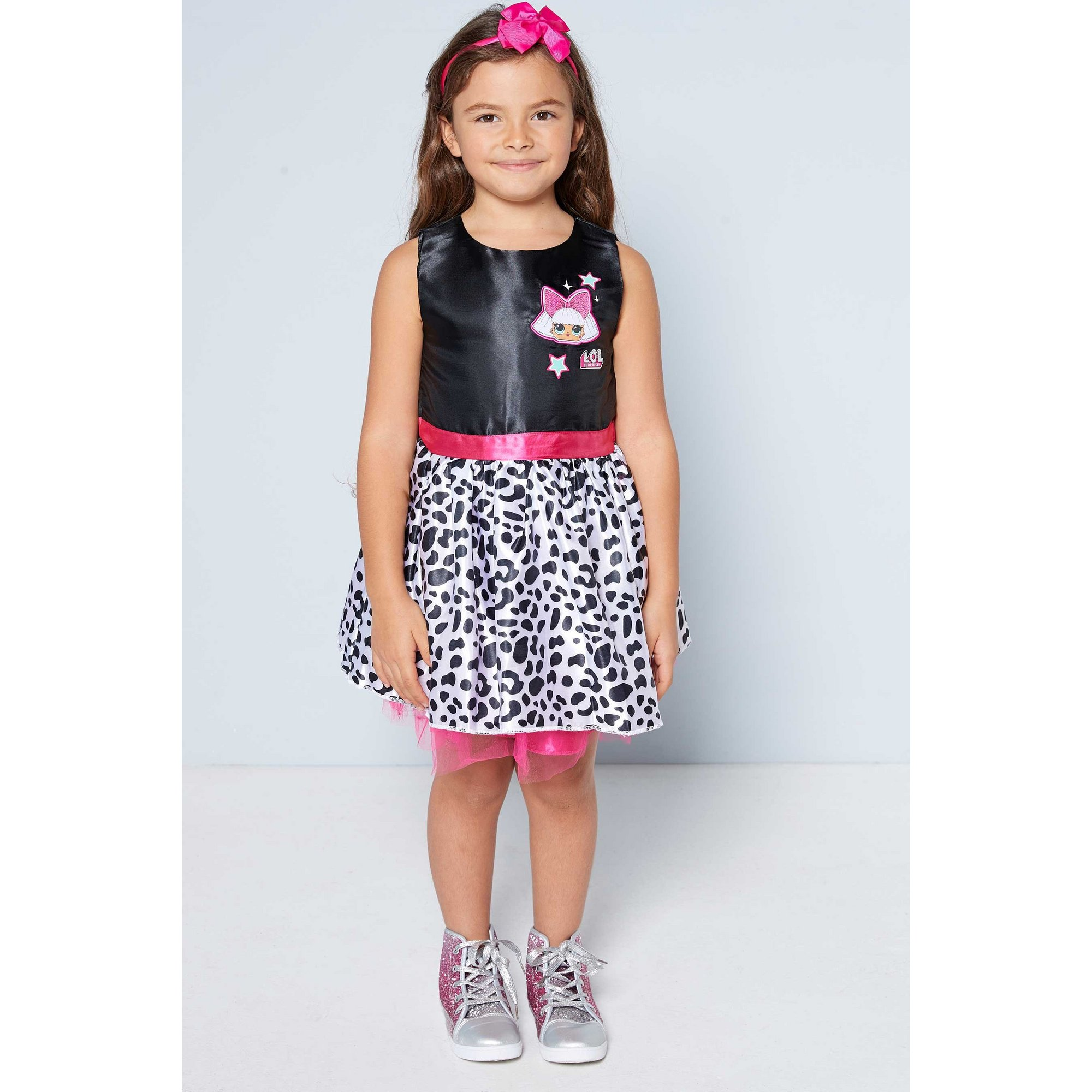 Image of Girls LOL Surprise Dress and Headband Set