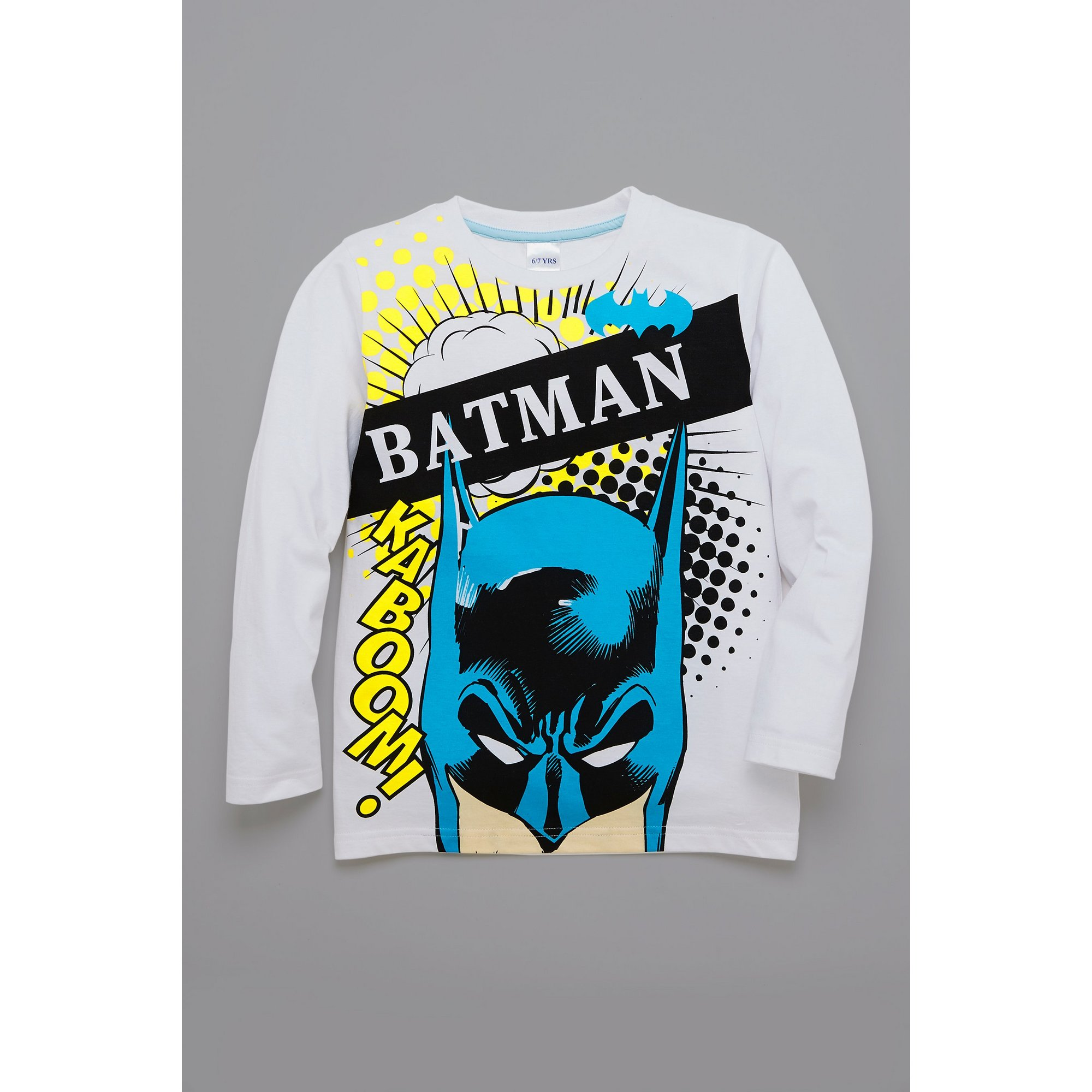 Image of Boys Batman Long Sleeve T-Shirt