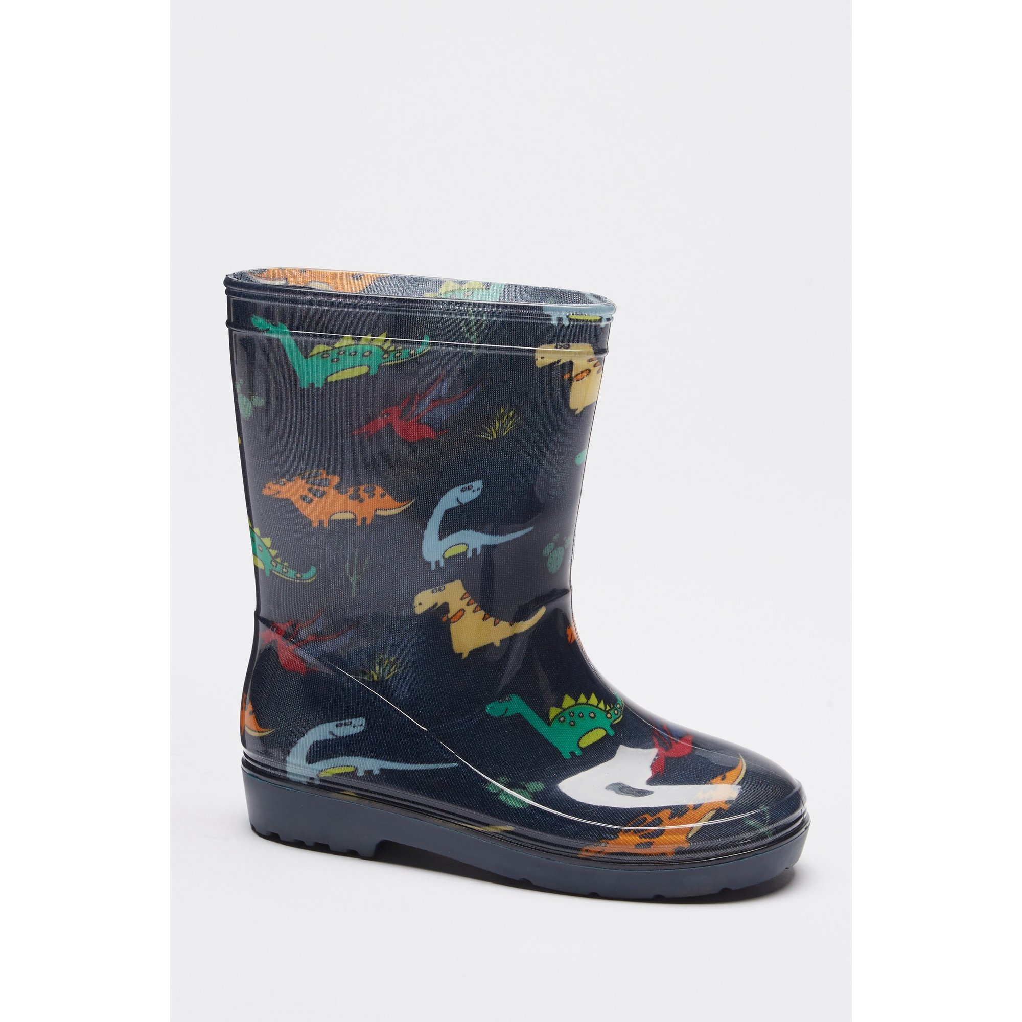 Image of Boys Dino Welly Boots