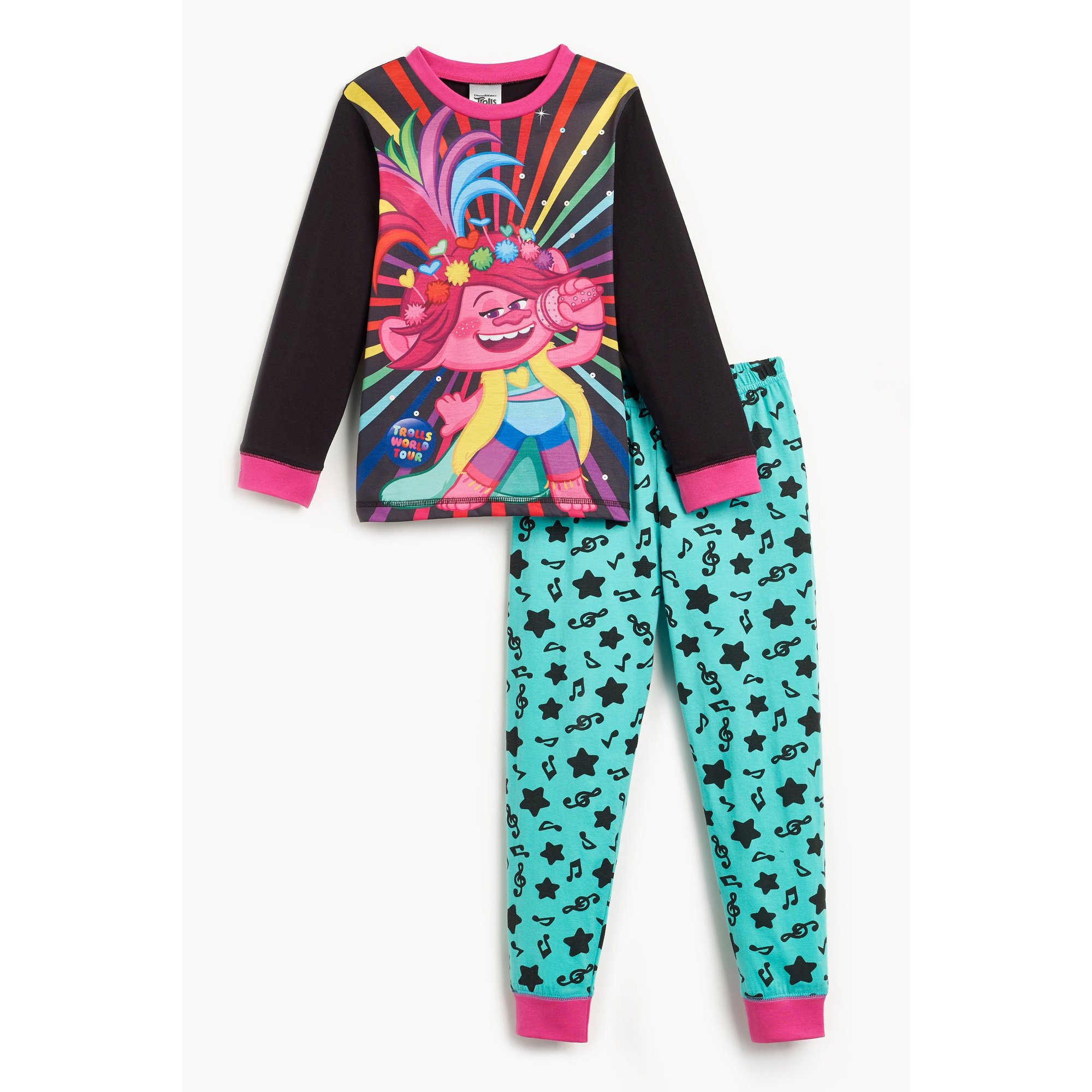 Image of Girls Trolls Poppy Pyjamas